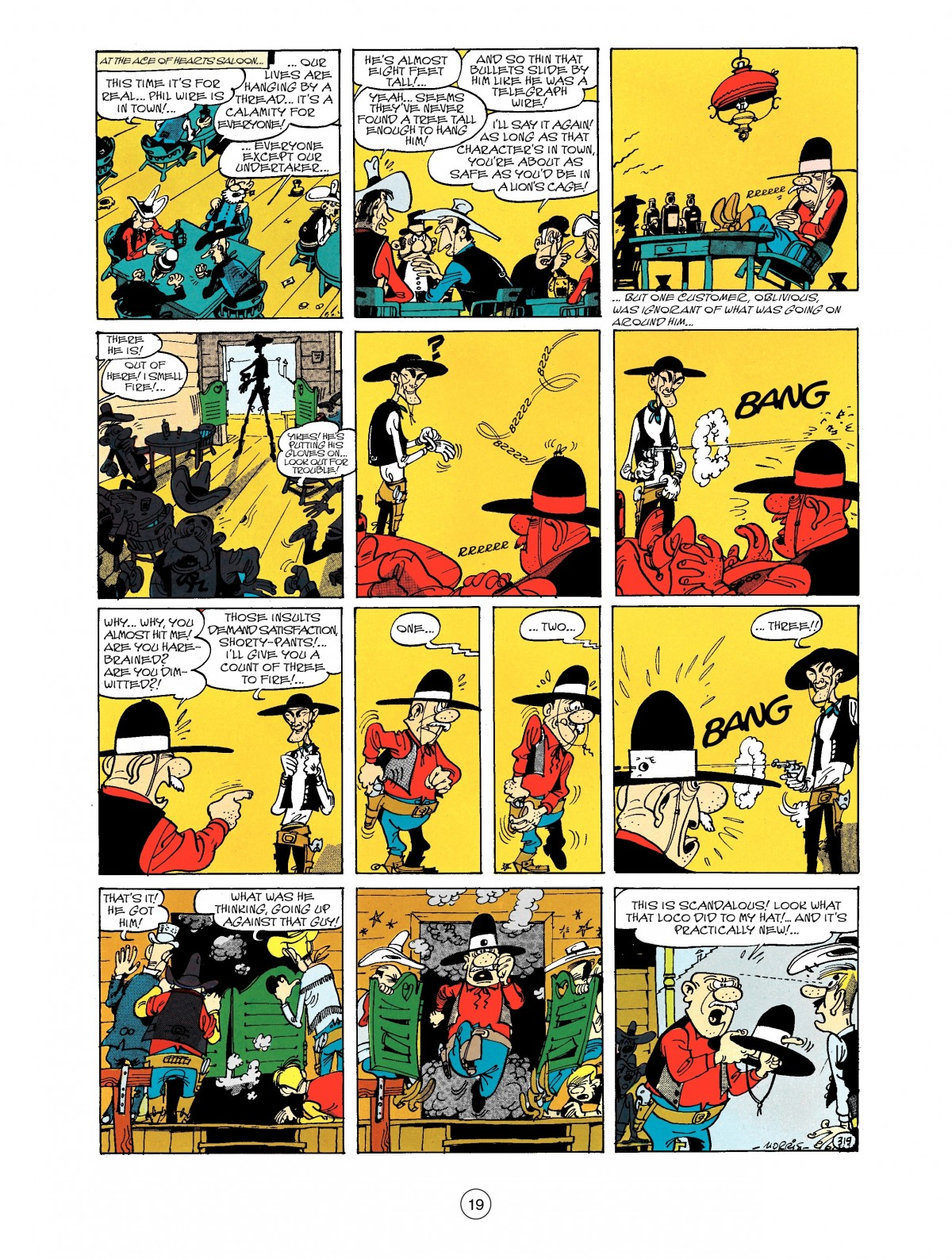 Read online A Lucky Luke Adventure comic -  Issue #40 - 19