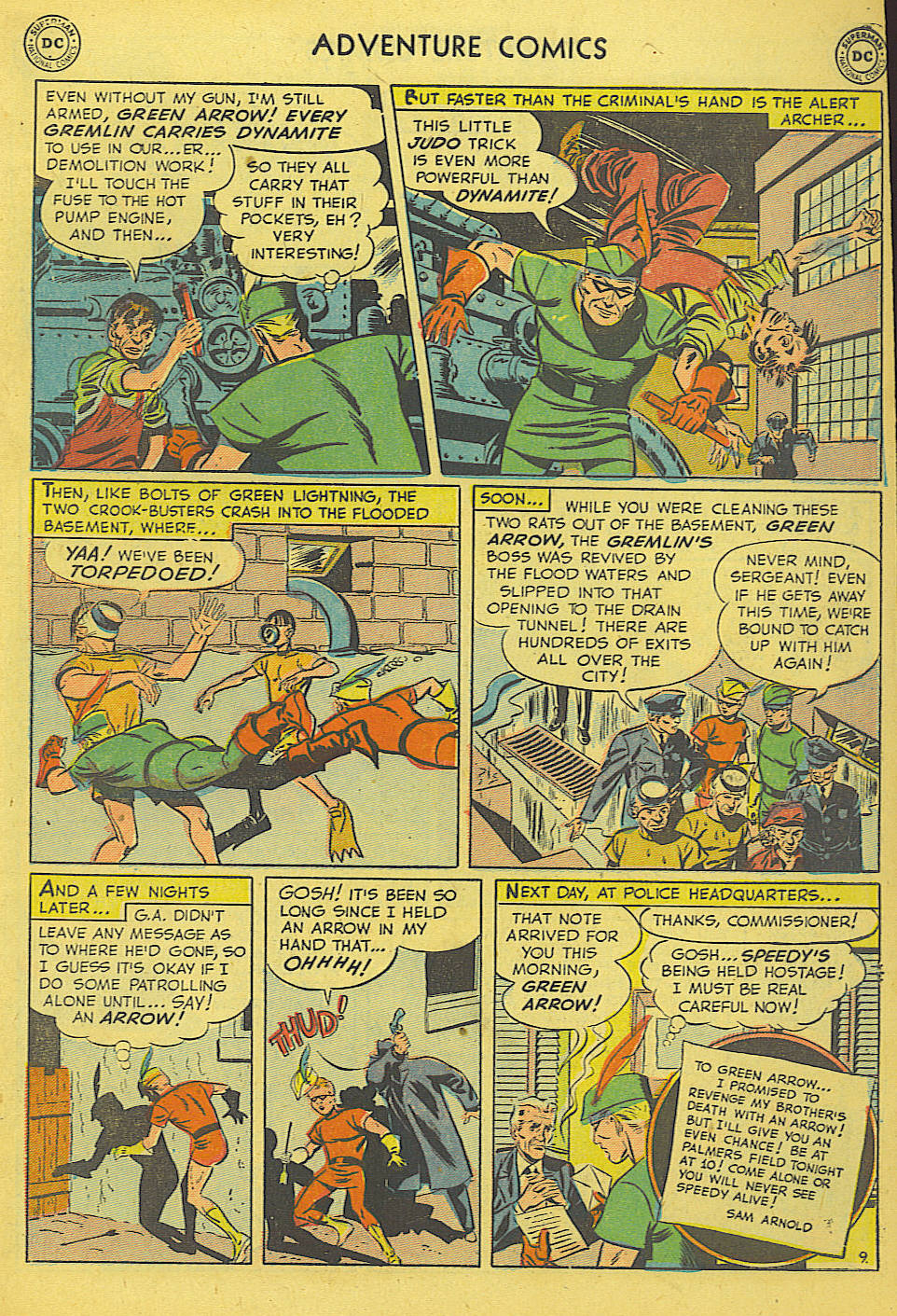 Read online Adventure Comics (1938) comic -  Issue #165 - 37