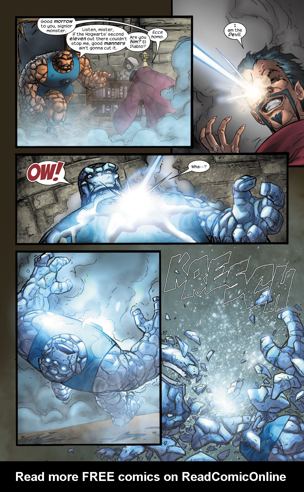Read online Ultimate Fantastic Four (2004) comic -  Issue #40 - 22