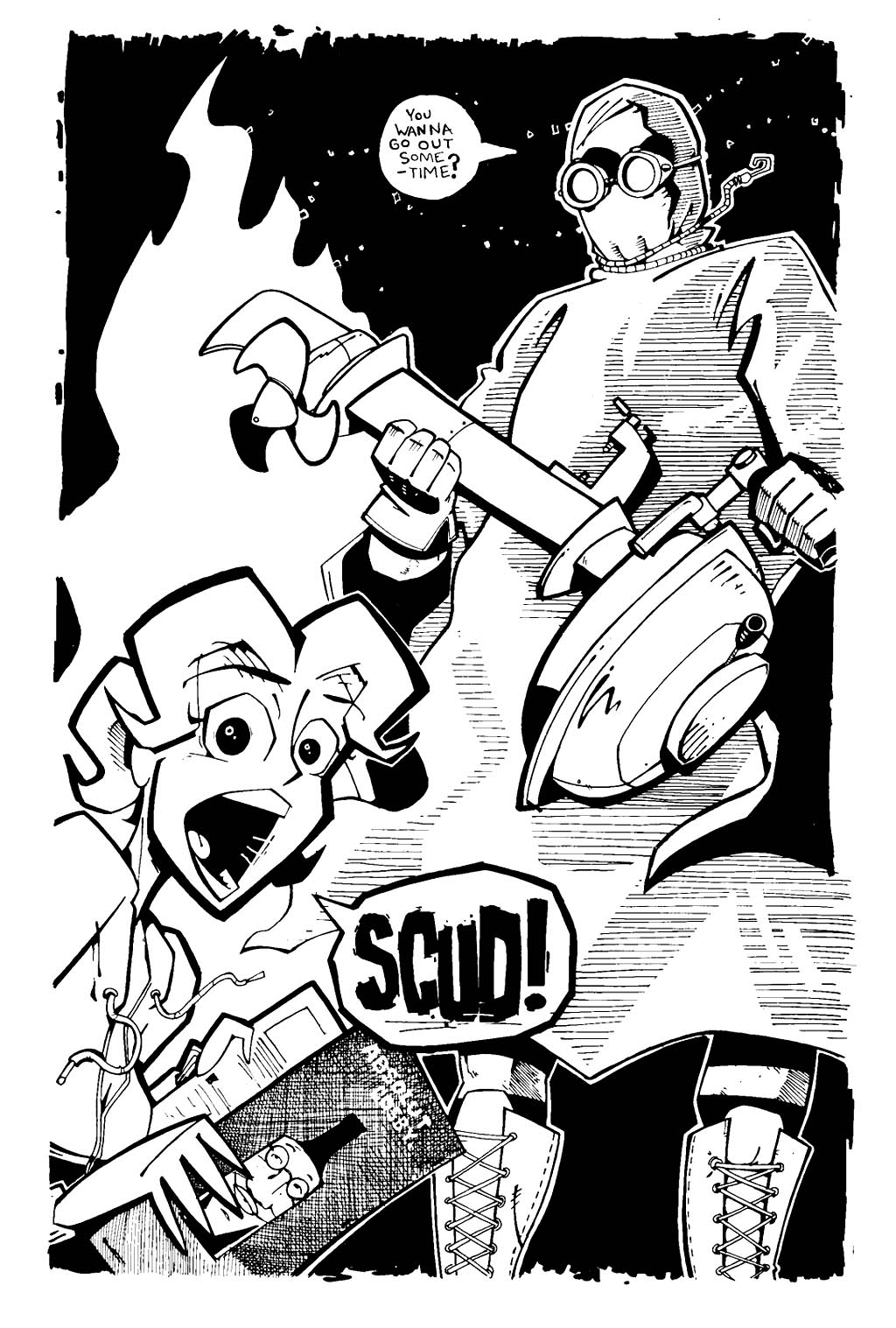 Read online Scud: The Disposable Assassin (1994) comic -  Issue #19 - 22