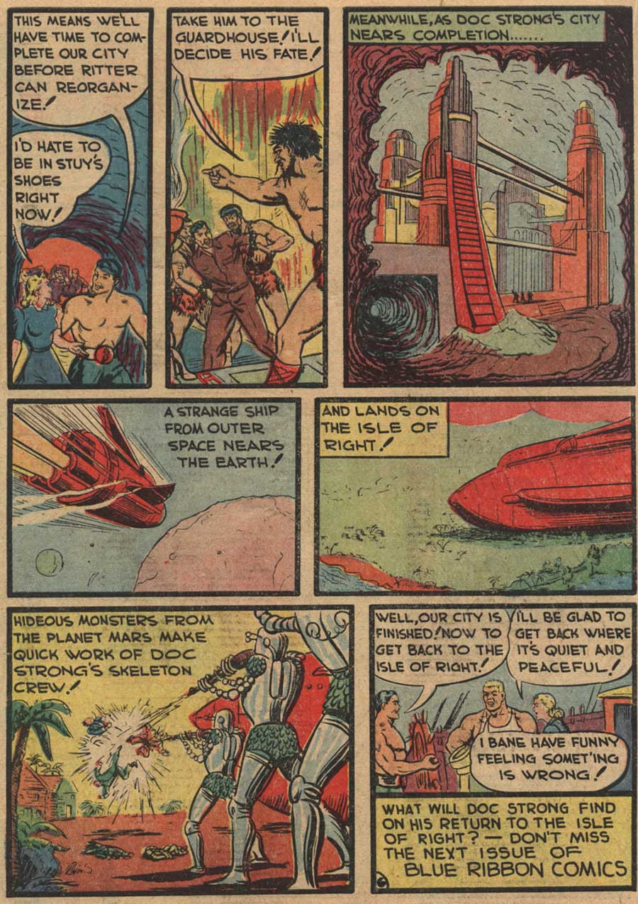 Blue Ribbon Comics (1939) issue 7 - Page 54