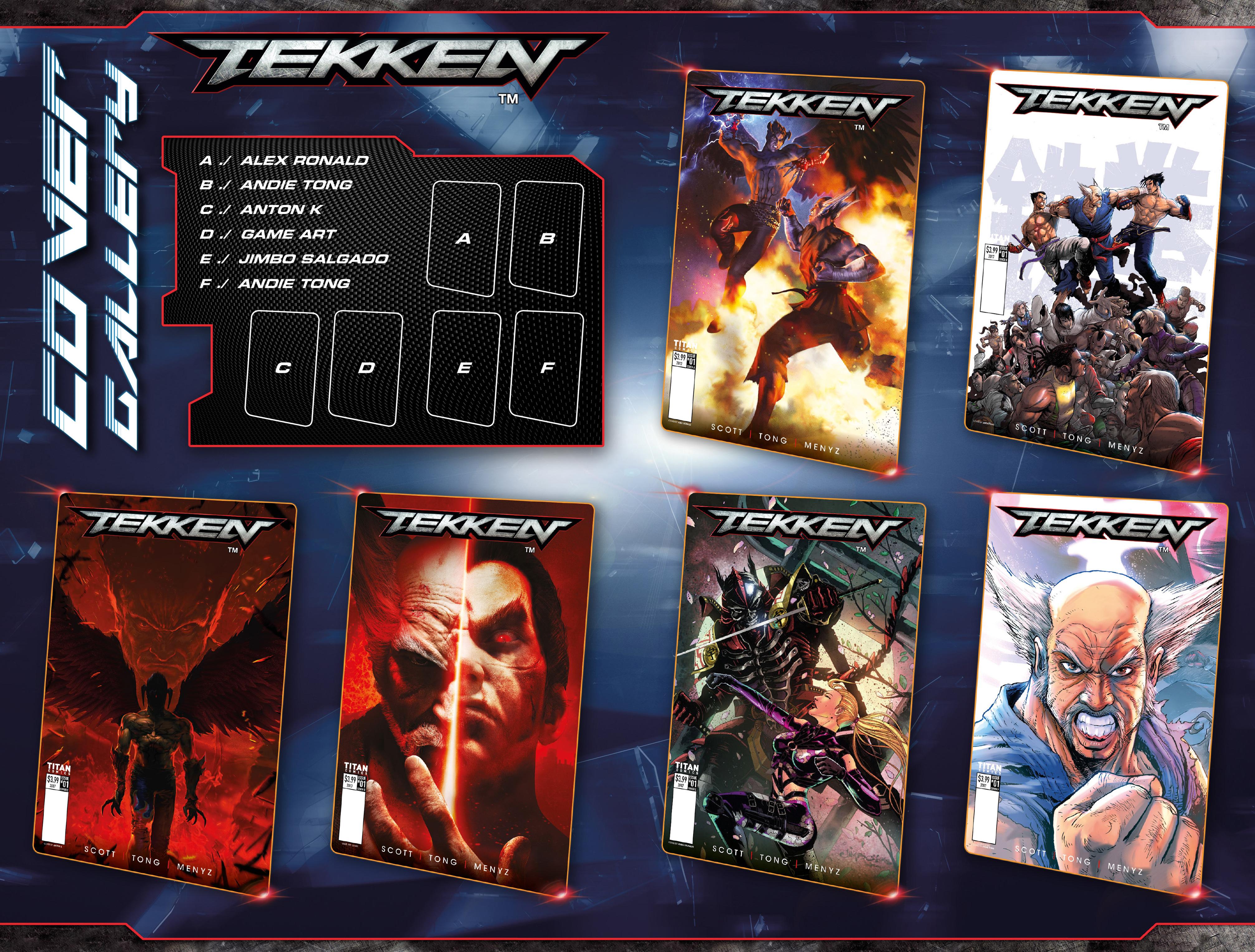 Read online Tekken comic -  Issue #1 - 29