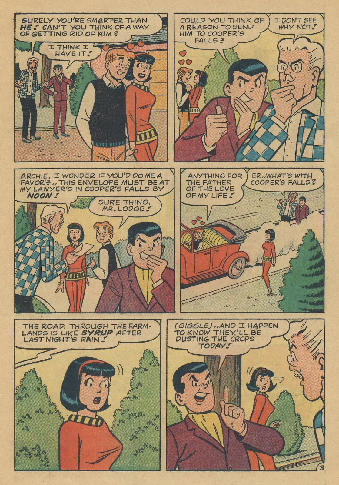 Read online Archie (1960) comic -  Issue #170 - 15