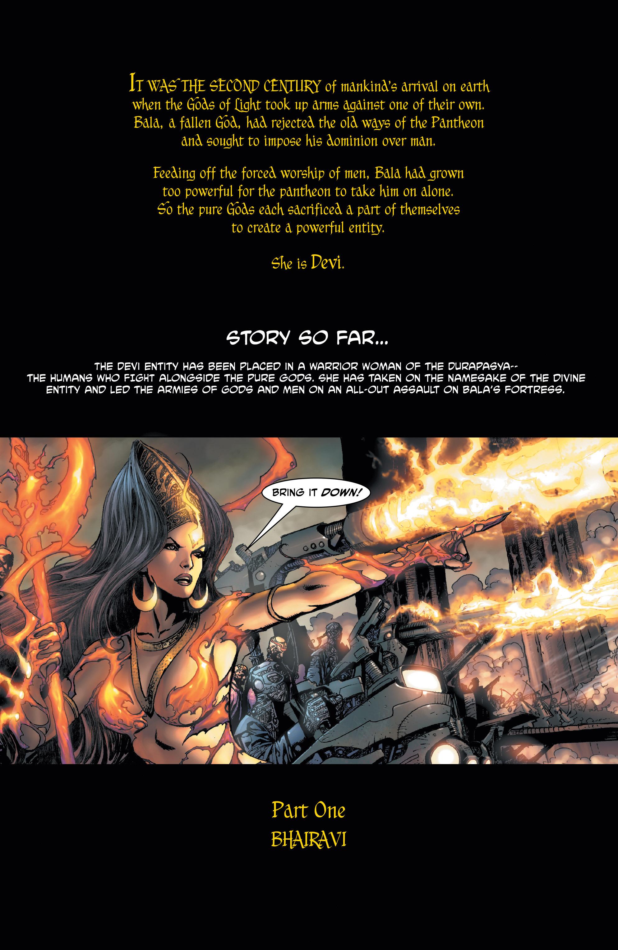 Read online Shekhar Kapur's Devi: Rebirth comic -  Issue #1 - 3