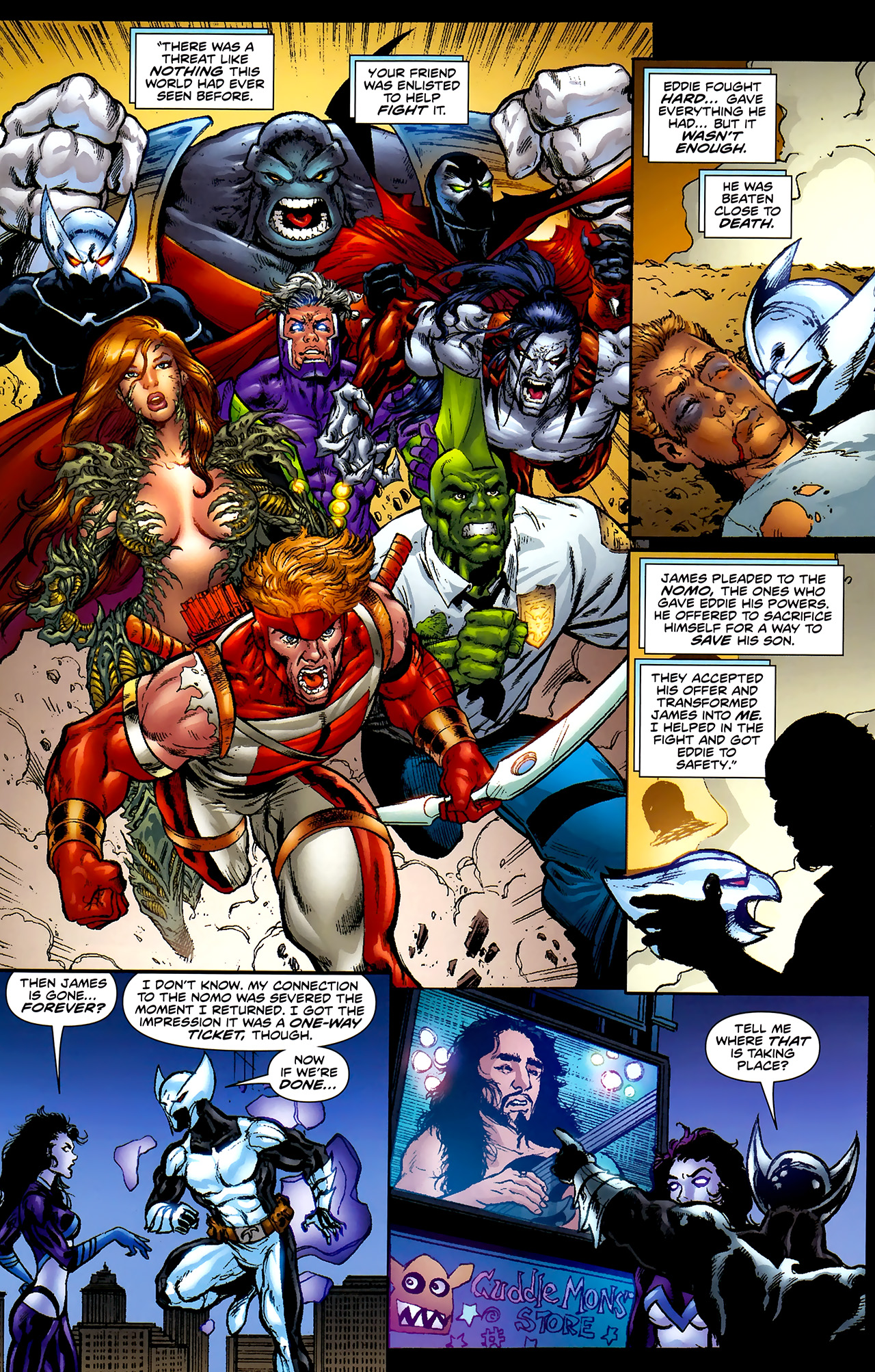 Read online ShadowHawk (2010) comic -  Issue #2 - 15