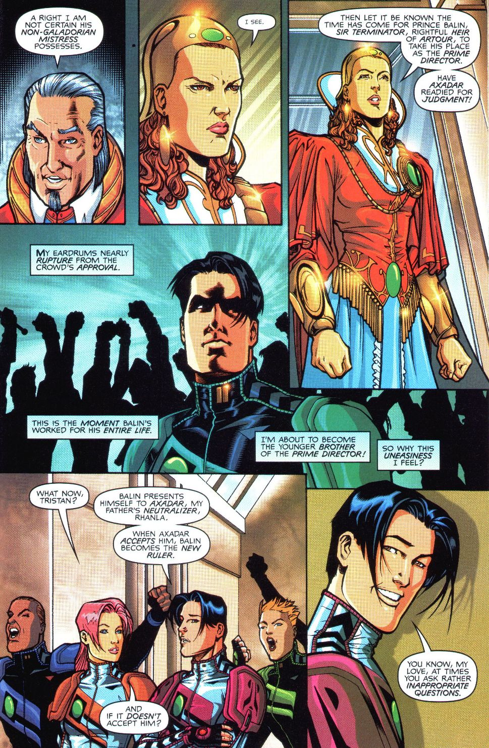 Read online Spaceknights (2000) comic -  Issue #1 - 20