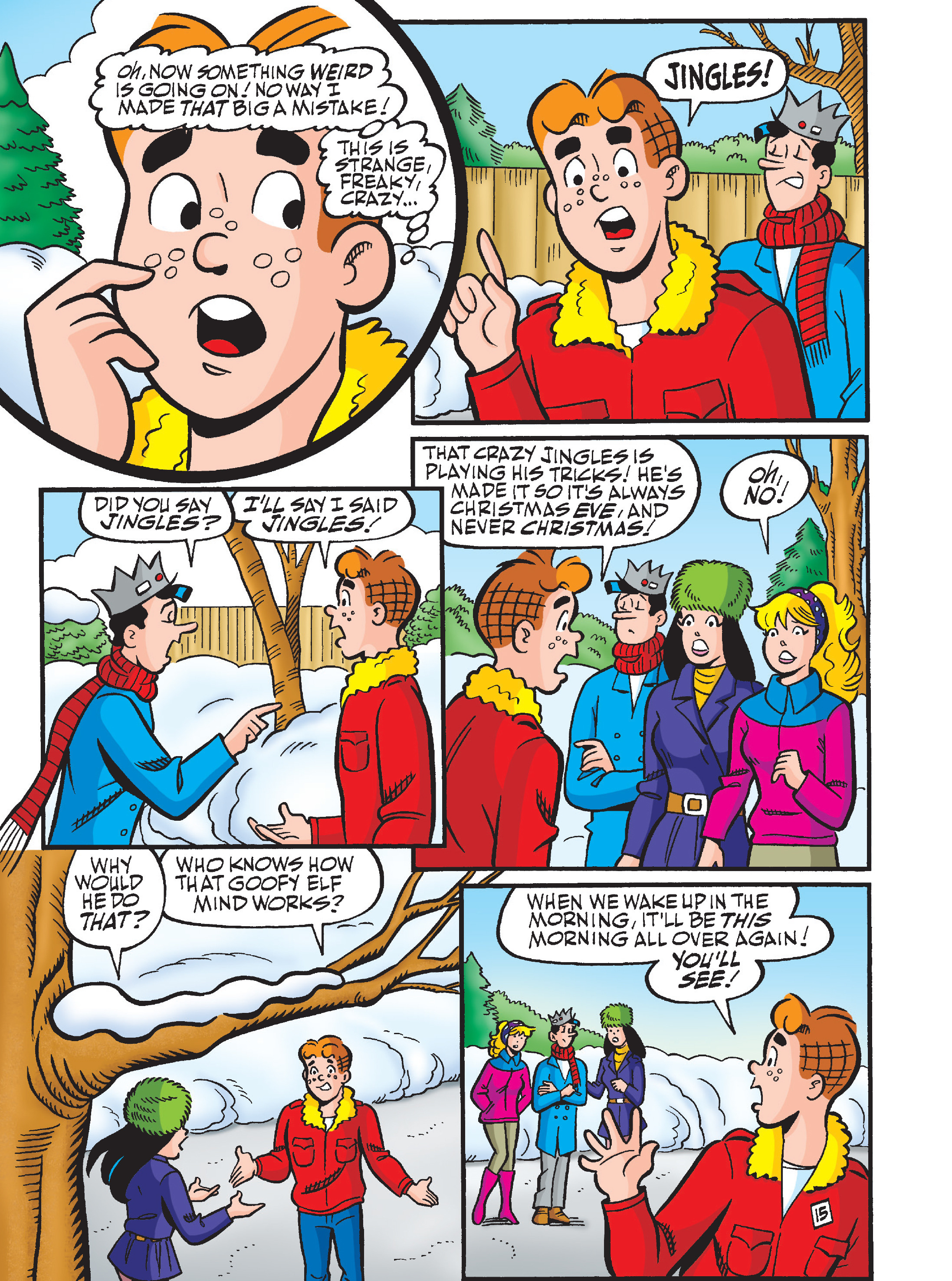 Read online Archie's Funhouse Double Digest comic -  Issue #23 - 49