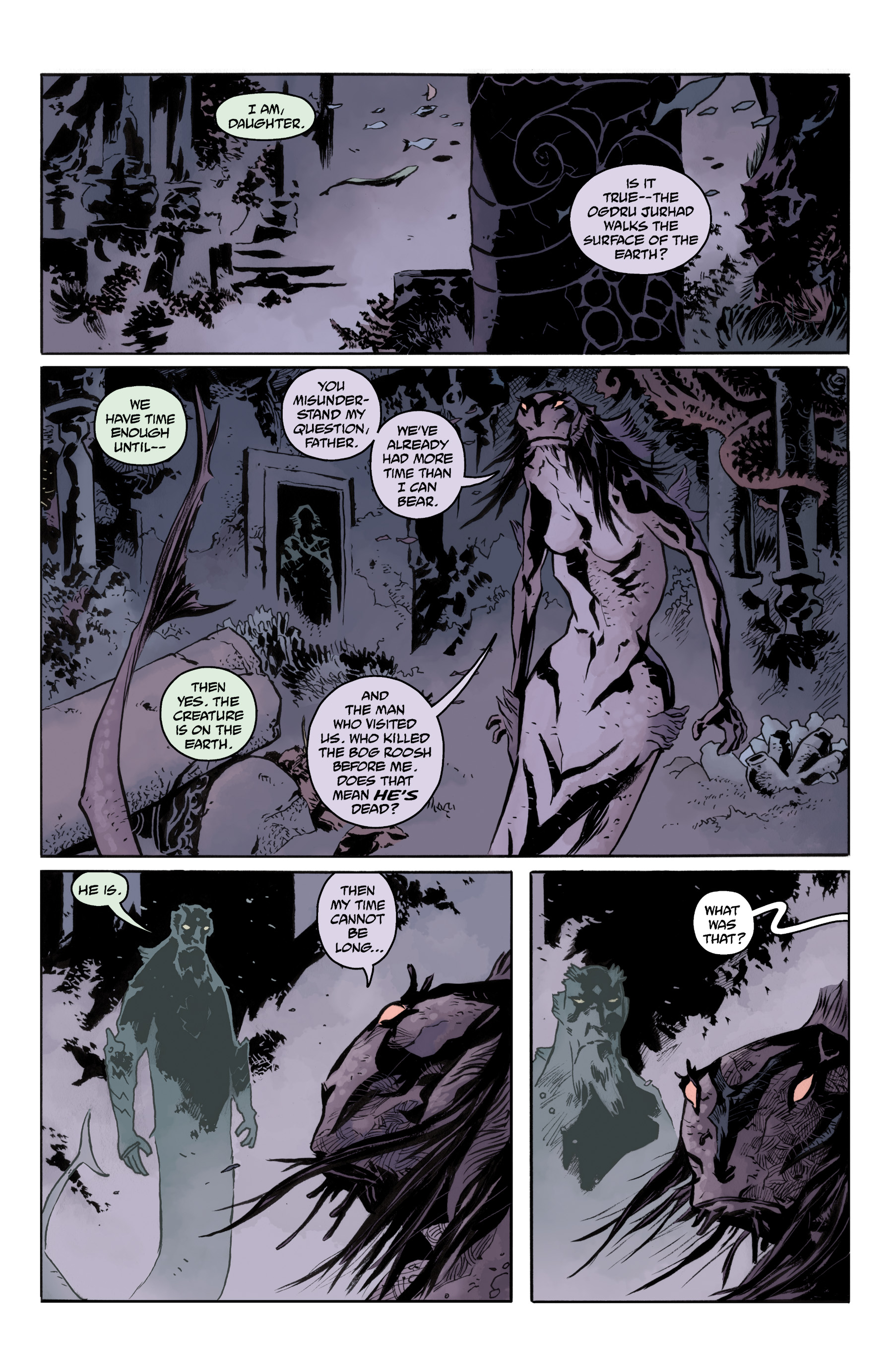 Read online Abe Sapien comic -  Issue #35 - 20