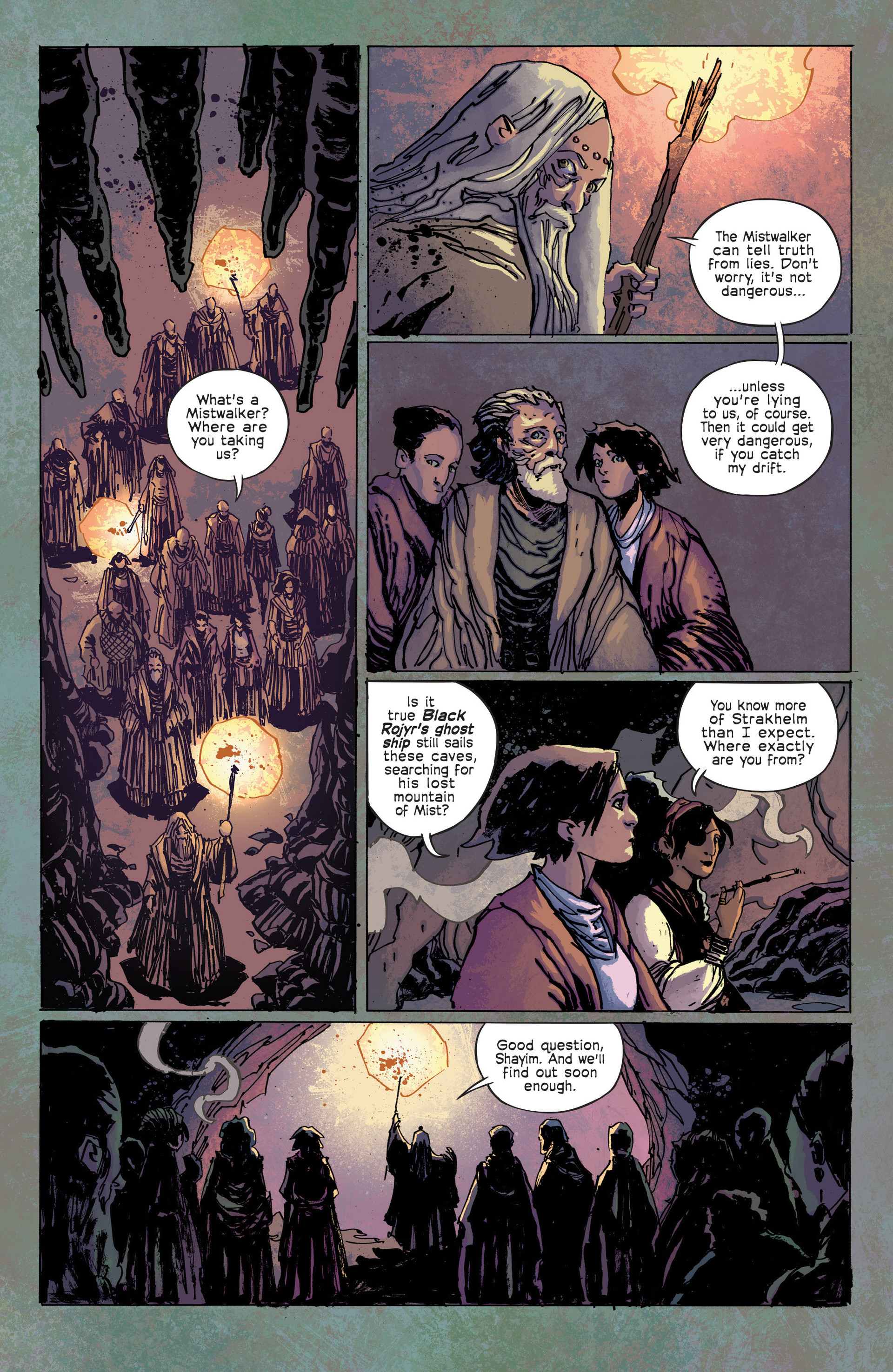 Read online Umbral comic -  Issue #3 - 9