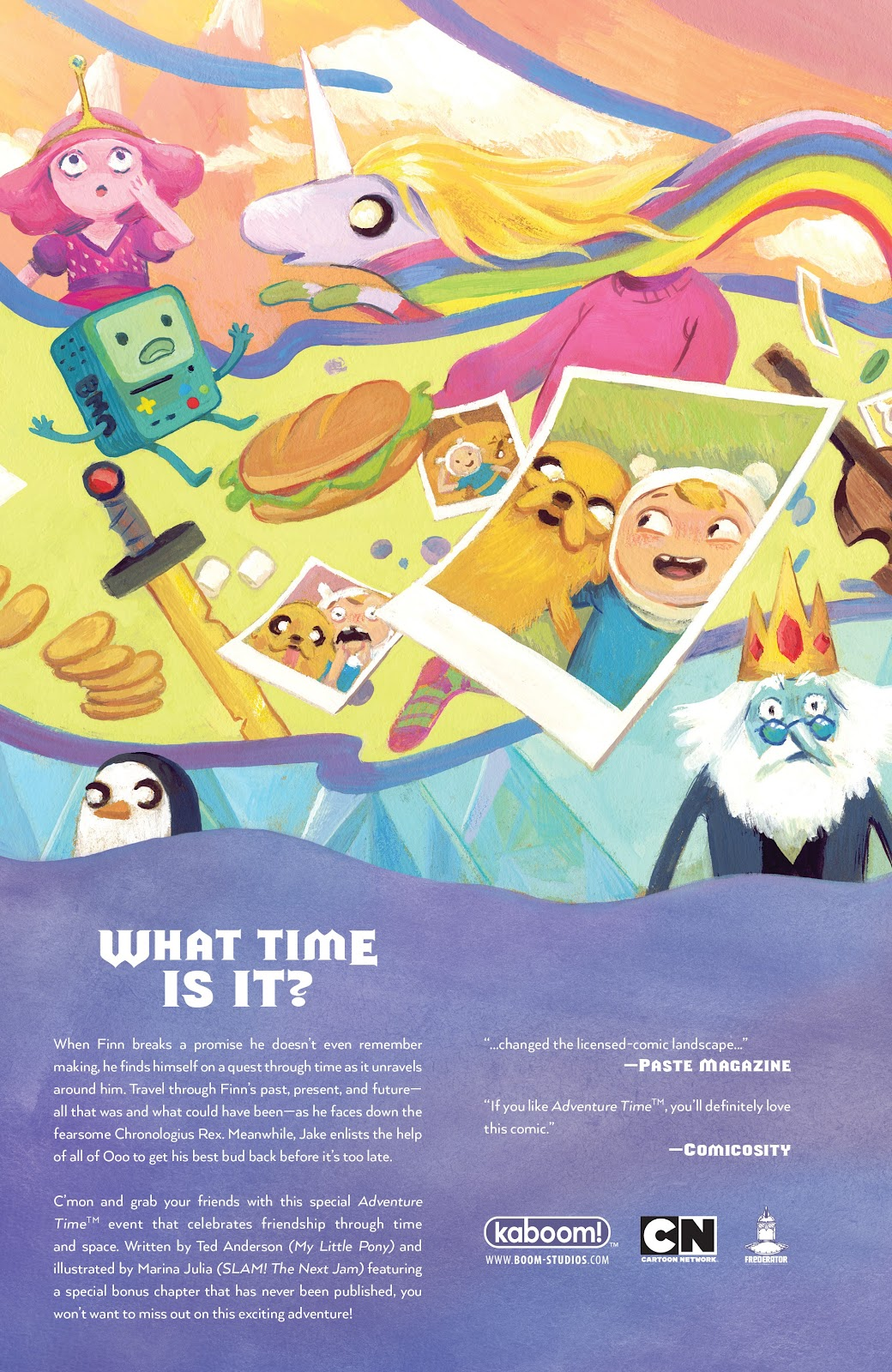Read online Adventure Time: Beginning of the End comic -  Issue # _TPB - 107