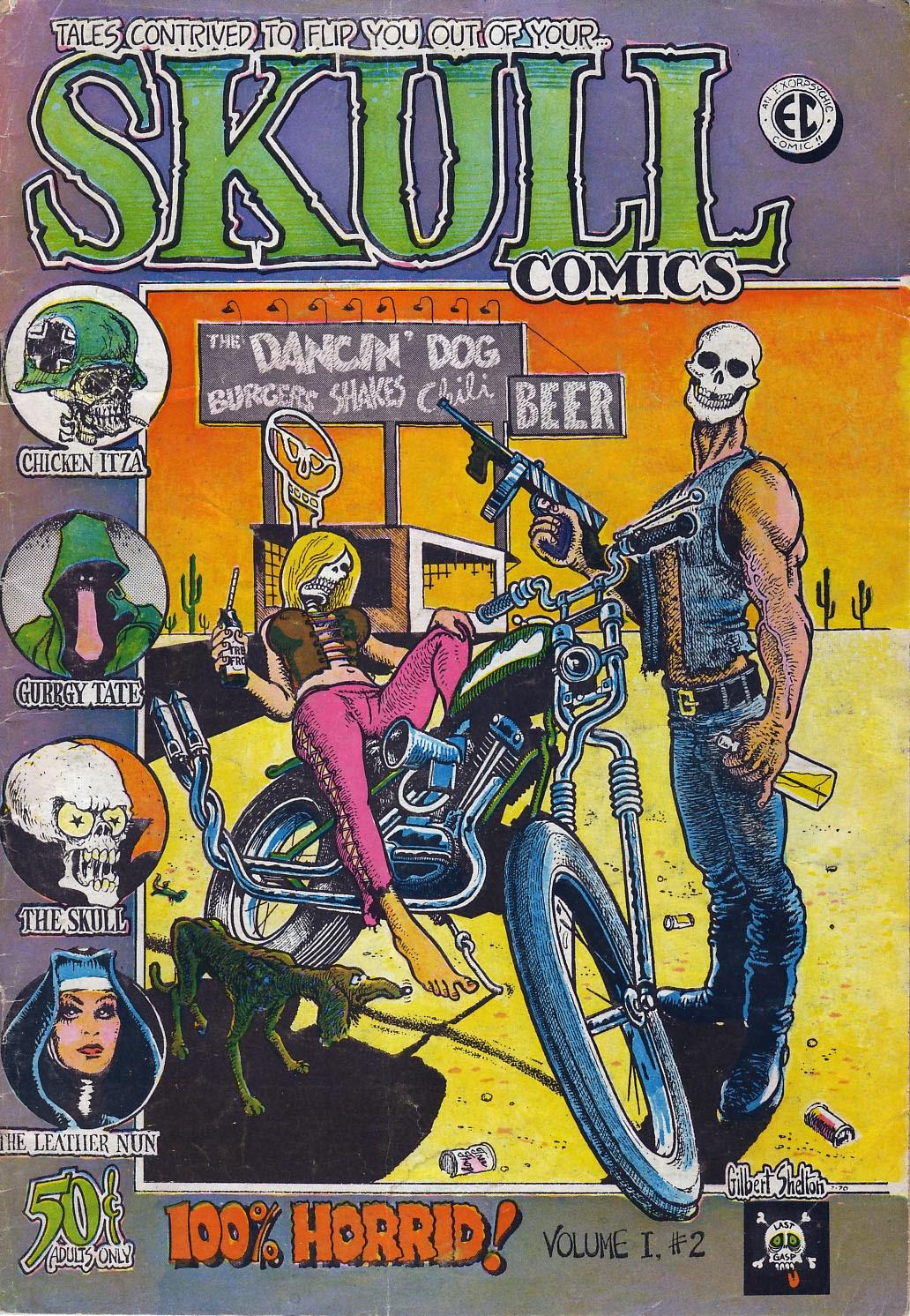 Skull Comics 2 Page 1
