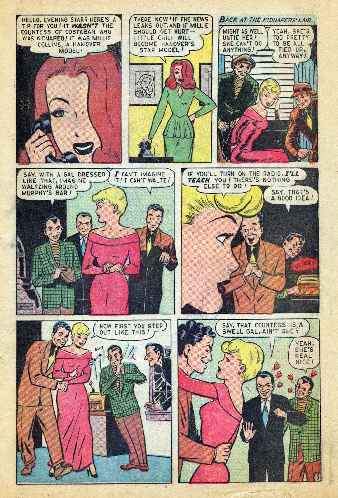 Read online Millie the Model comic -  Issue #14 - 7