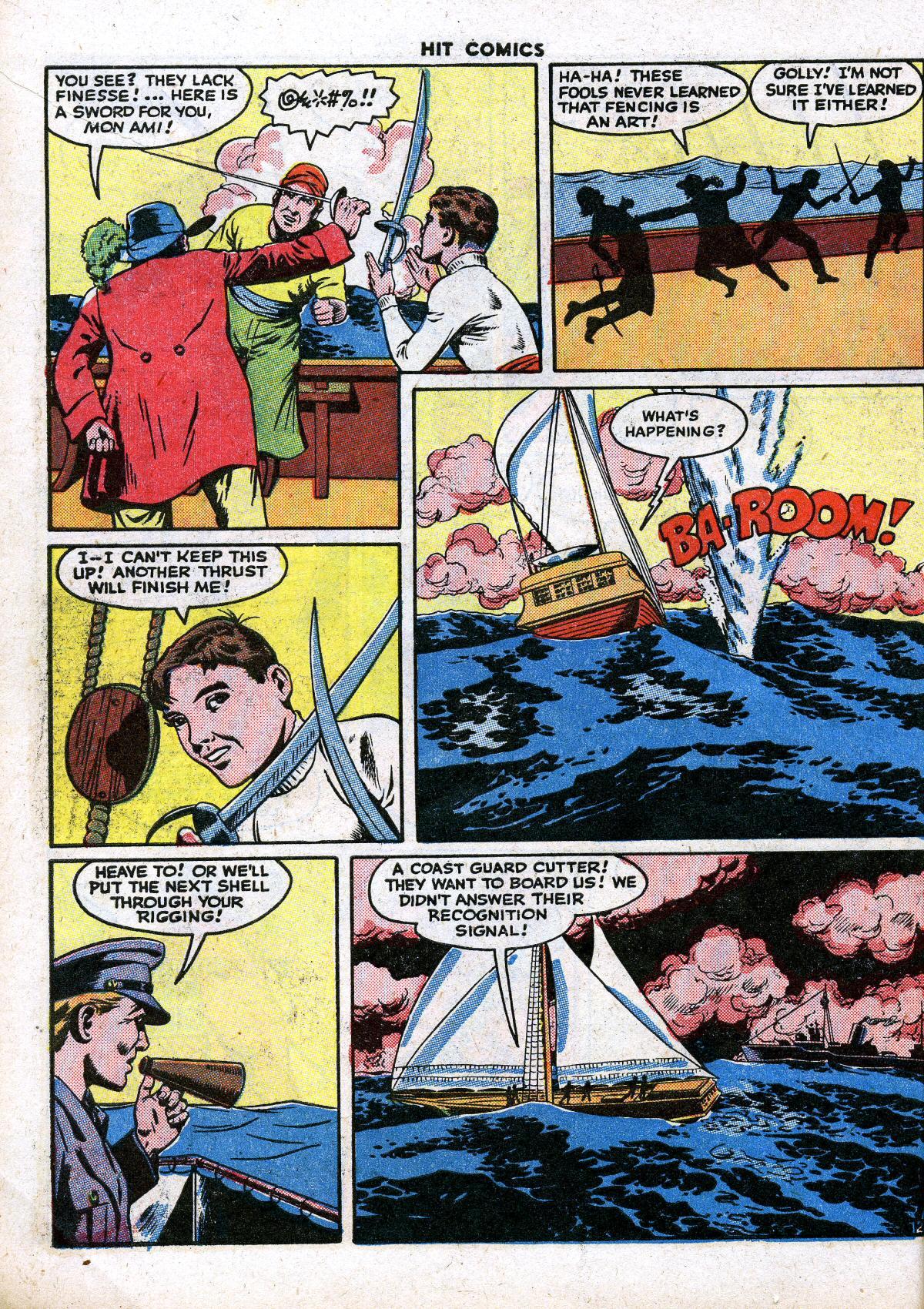 Read online Hit Comics comic -  Issue #41 - 14