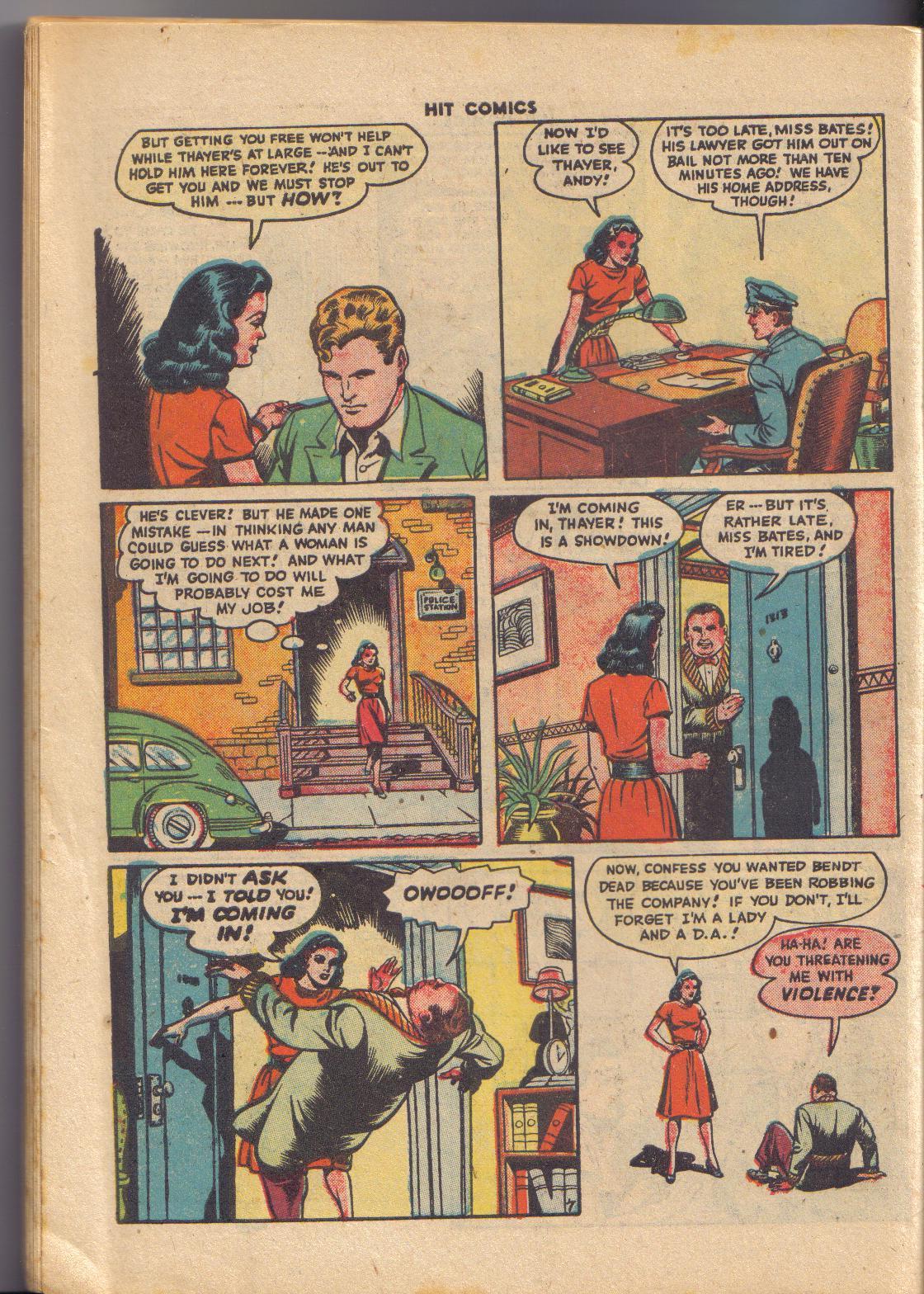 Read online Hit Comics comic -  Issue #45 - 29