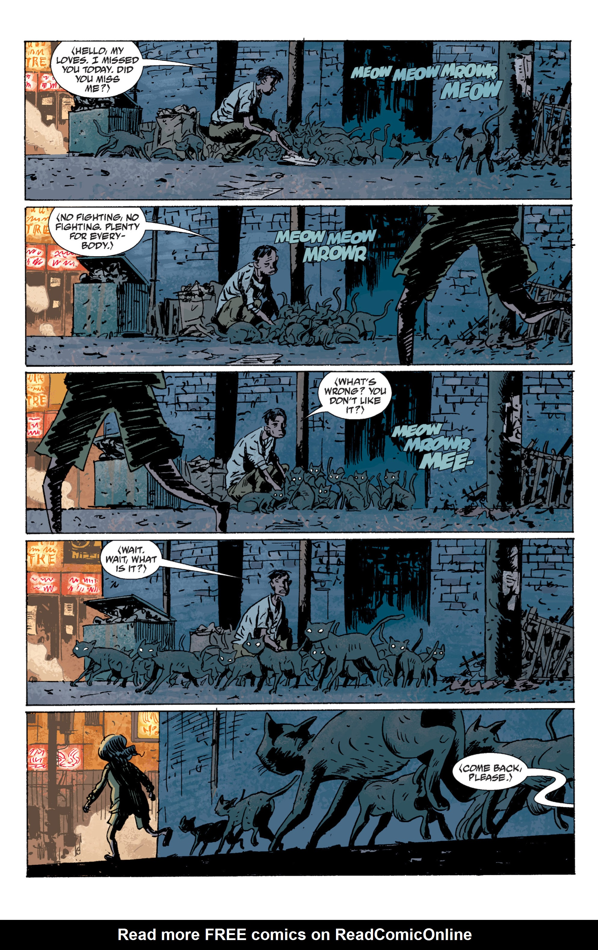 Read online B.P.R.D. (2003) comic -  Issue # TPB 7 - 35