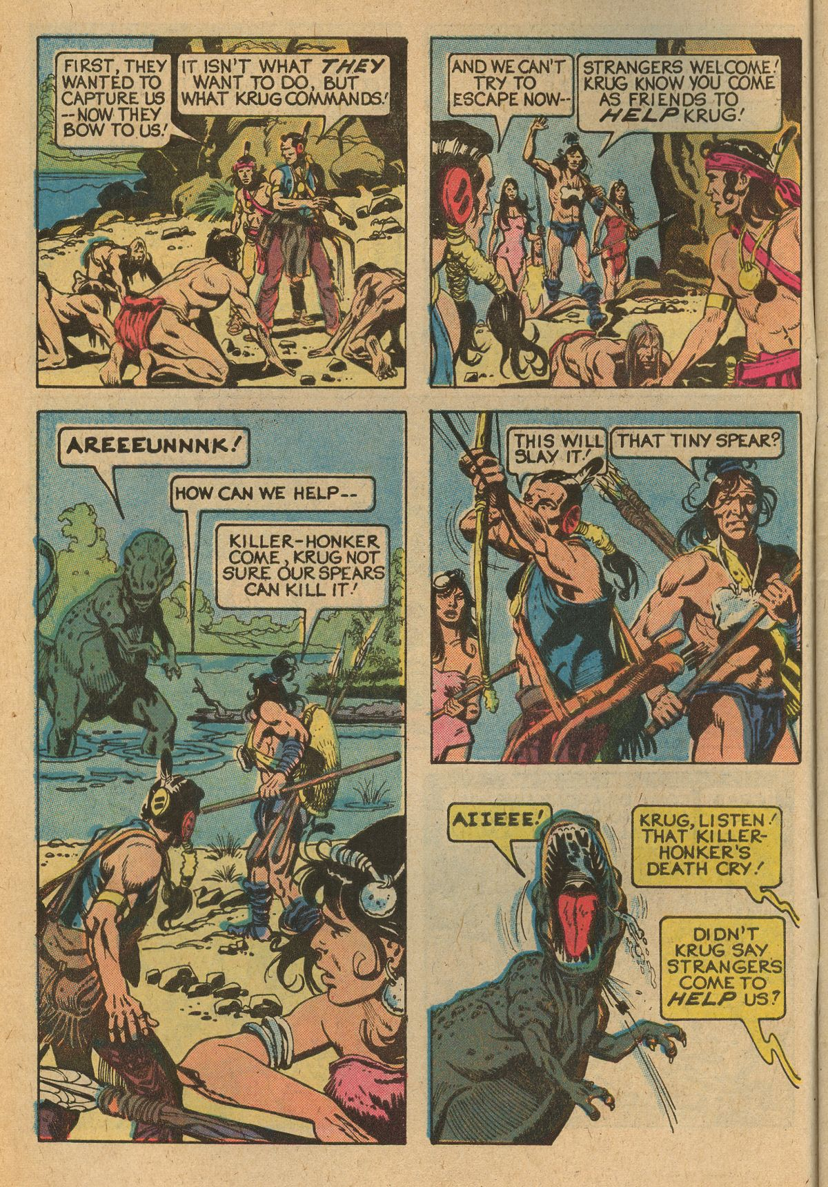 Read online Turok, Son of Stone comic -  Issue #115 - 6