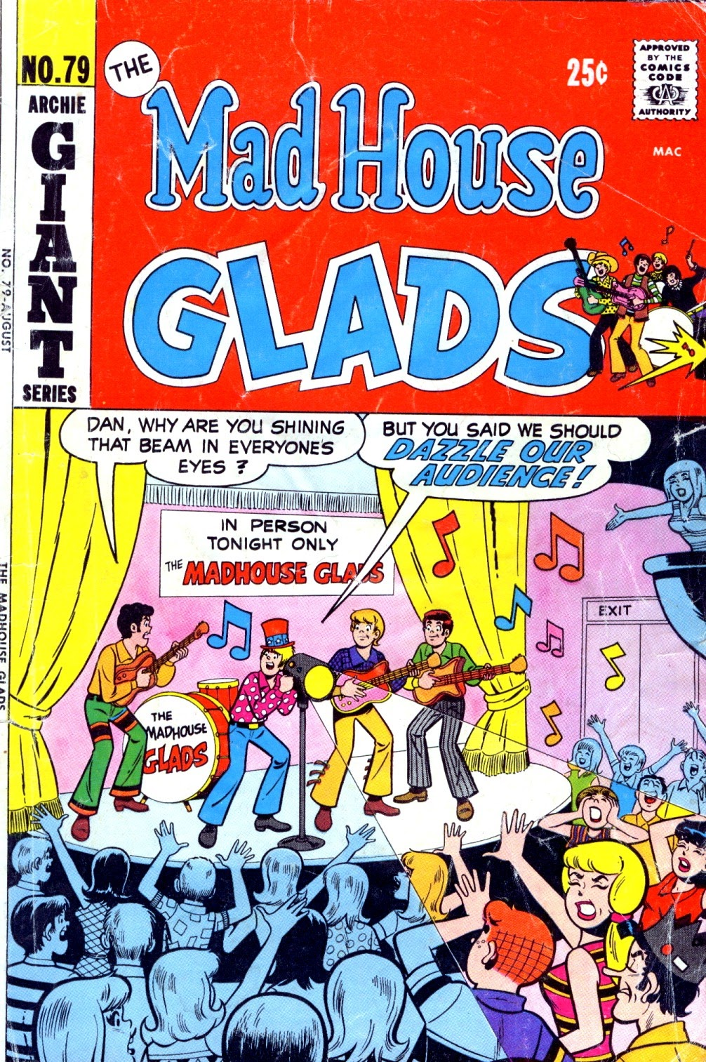 Read online The Mad House Glads comic -  Issue #79 - 1
