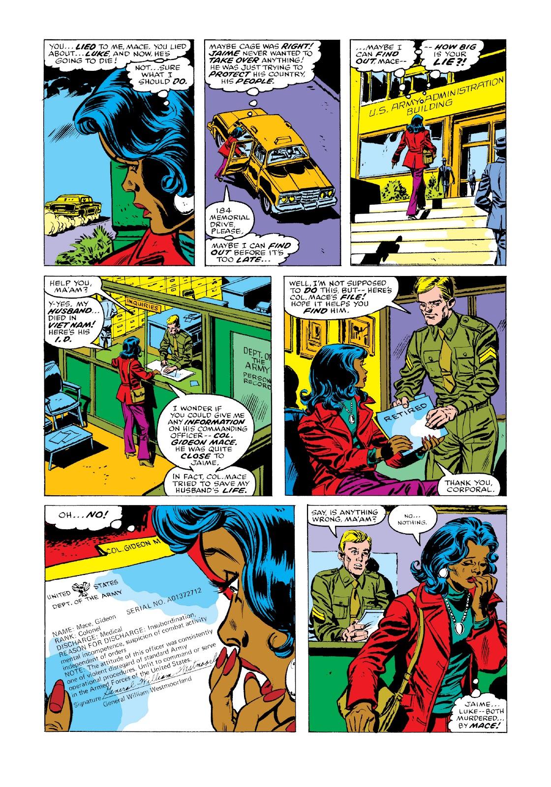 Read online Marvel Masterworks: Luke Cage, Power Man comic -  Issue # TPB 3 (Part 3) - 59