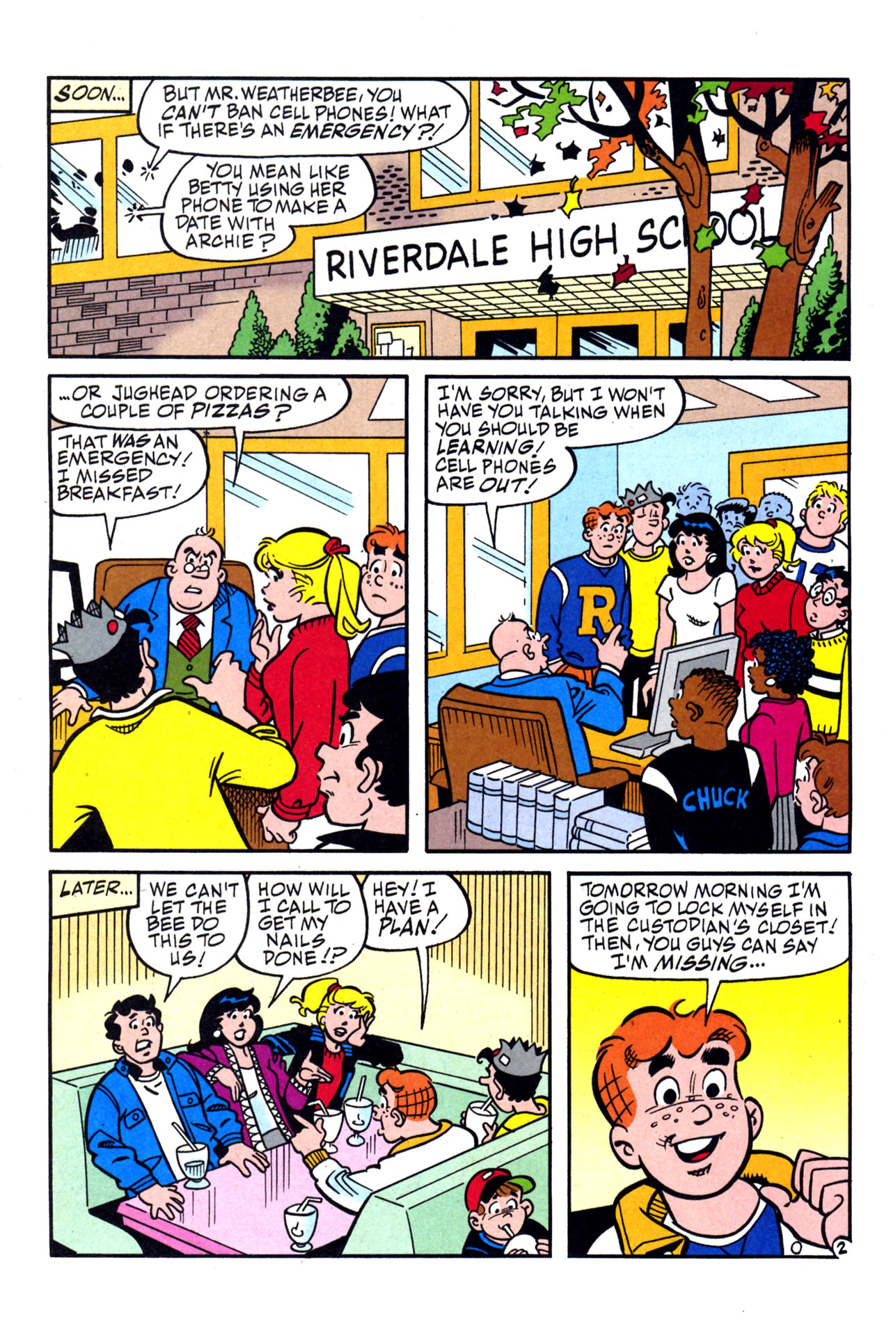 Read online Archie (1960) comic -  Issue #579 - 3