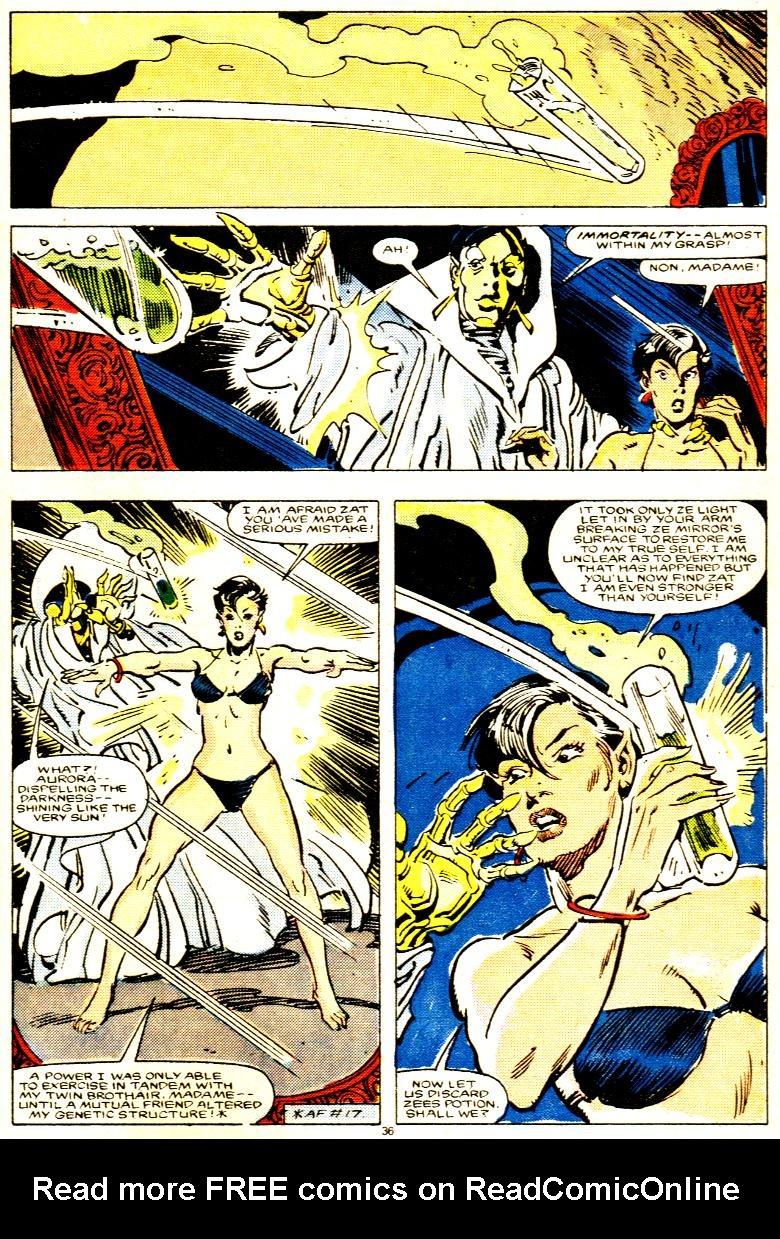 Read online Alpha Flight (1983) comic -  Issue # _Annual 1 - 37
