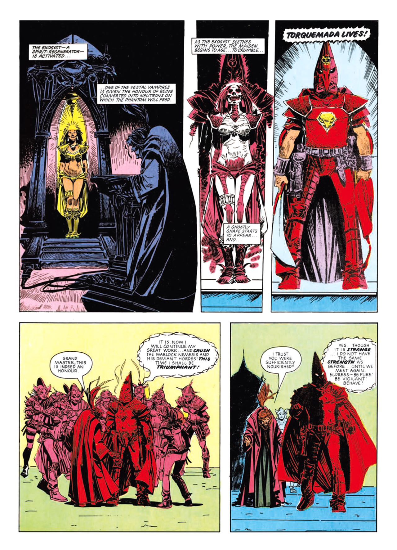 Read online Nemesis The Warlock comic -  Issue # TPB Deviant Edition - 109