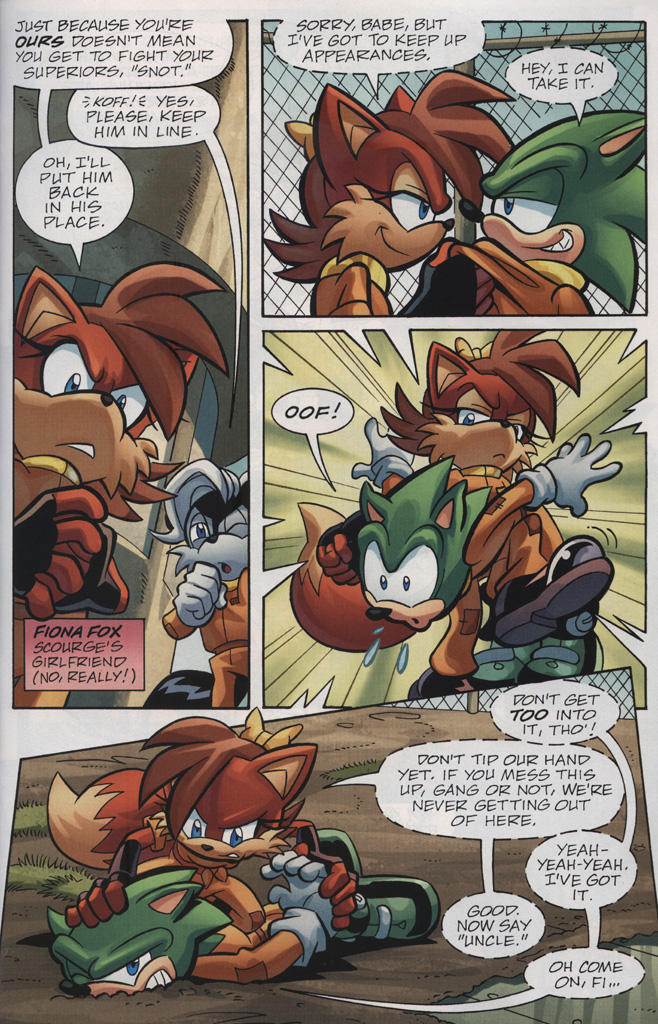 Read online Sonic Universe comic -  Issue #31 - 9