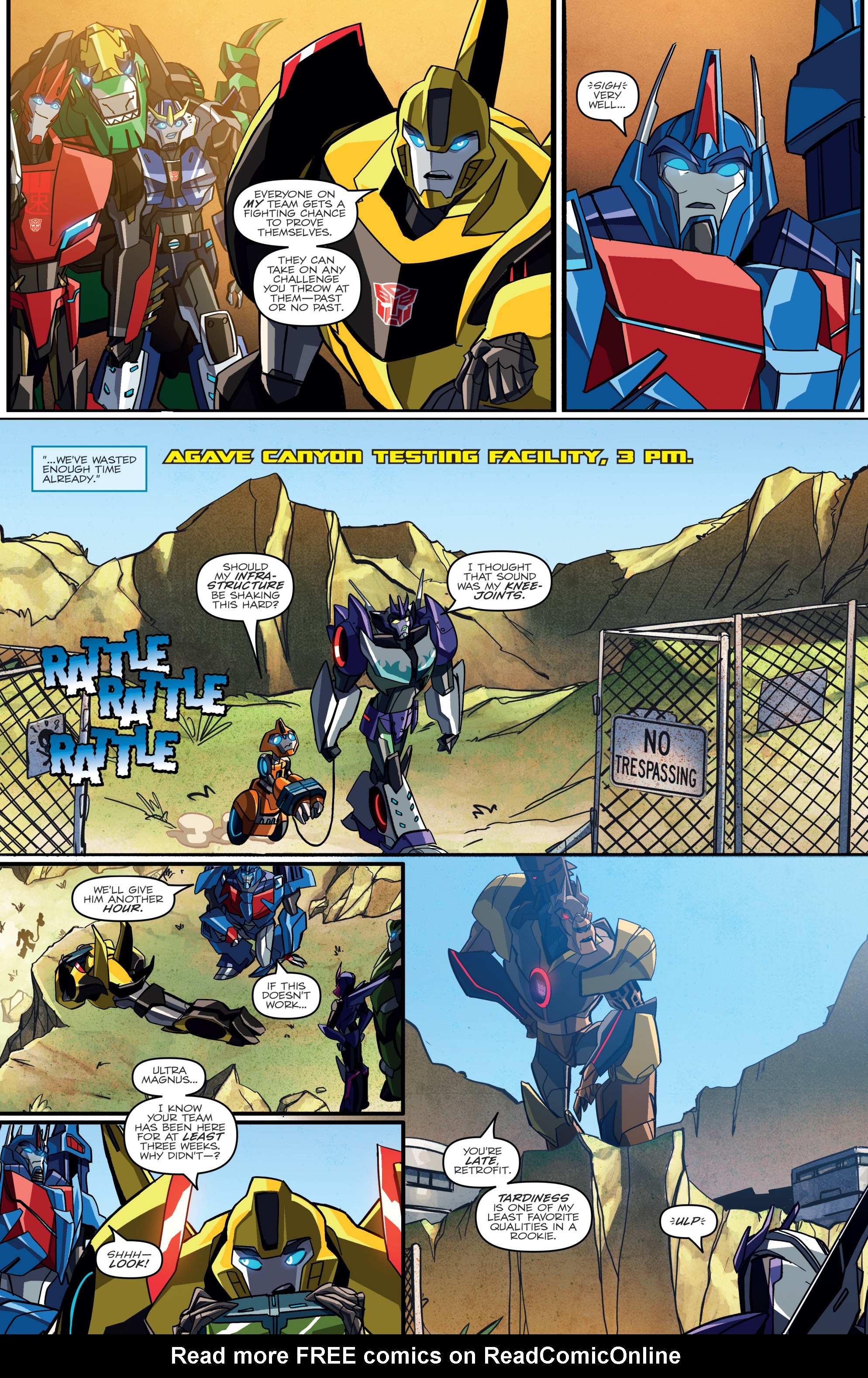 Read online Transformers: Robots In Disguise (2015) comic -  Issue #2 - 16