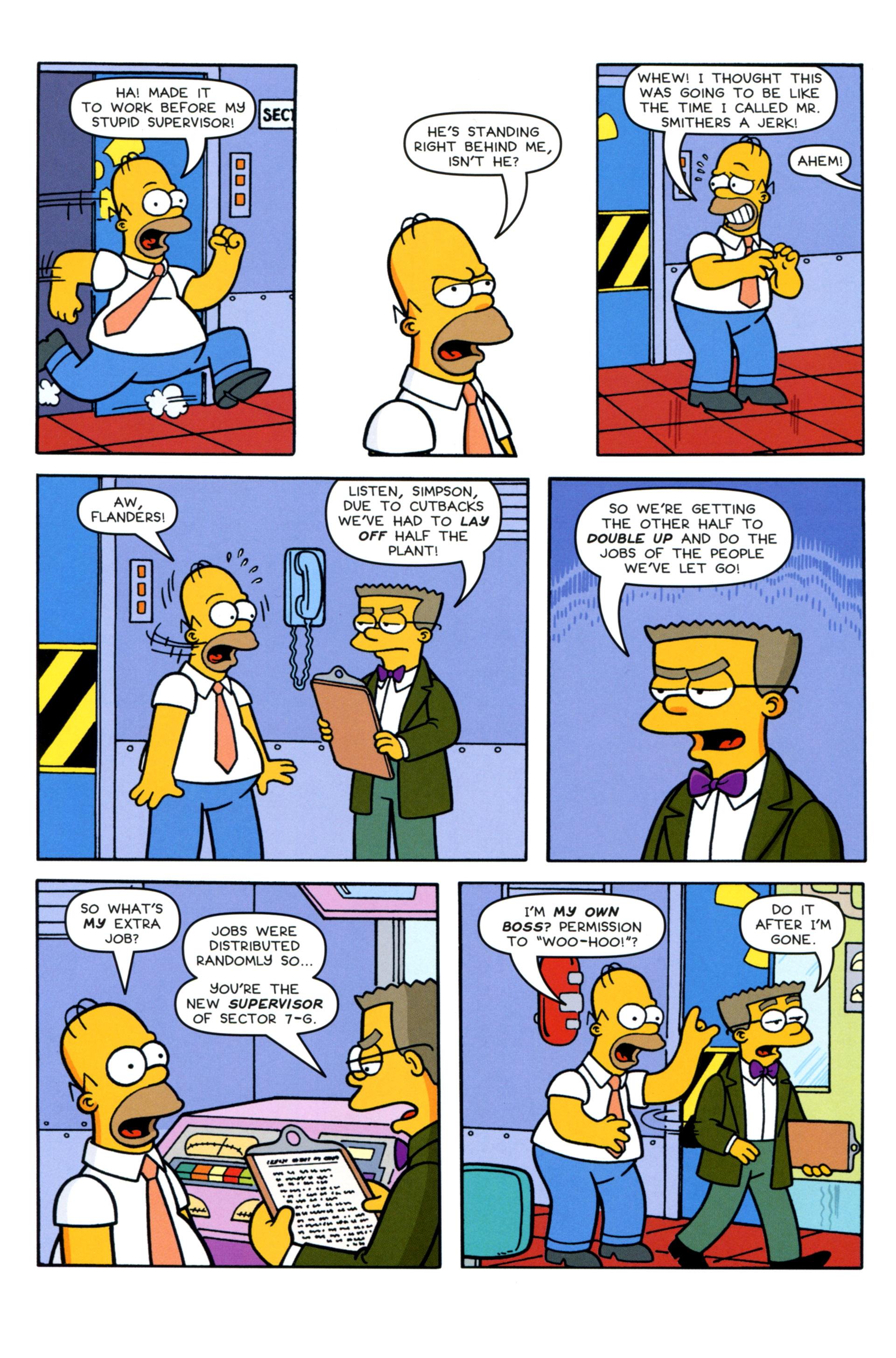 Read online Simpsons Comics comic -  Issue #202 - 6