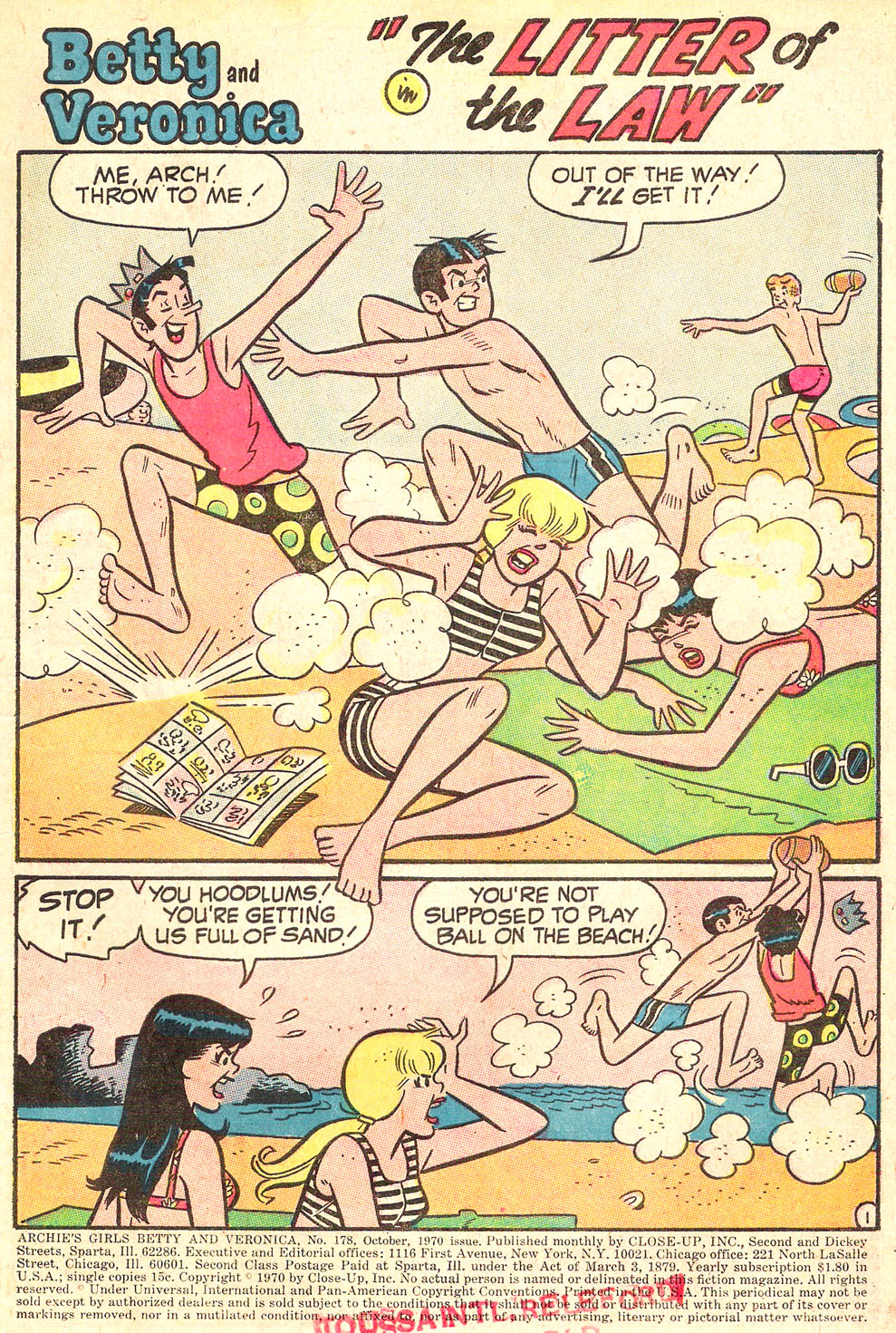 Read online Archie's Girls Betty and Veronica comic -  Issue #178 - 3