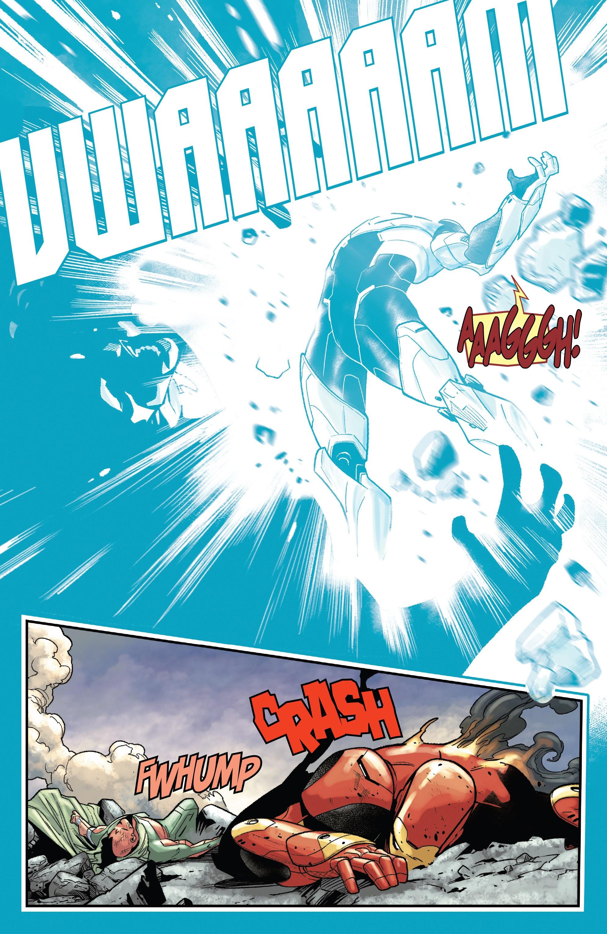 Read online Tony Stark: Iron Man comic -  Issue #15 - 19