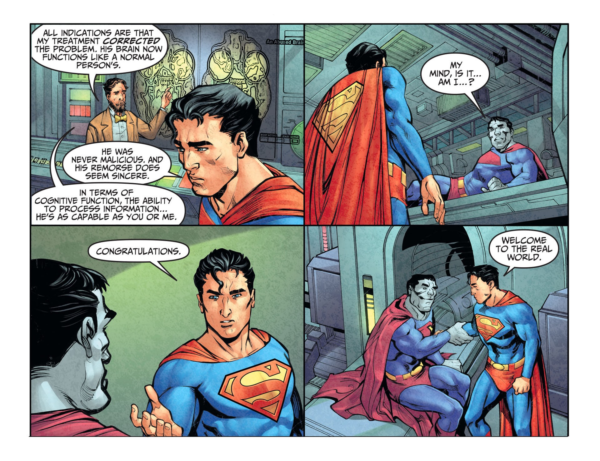 Read online Adventures of Superman [I] comic -  Issue #26 - 6
