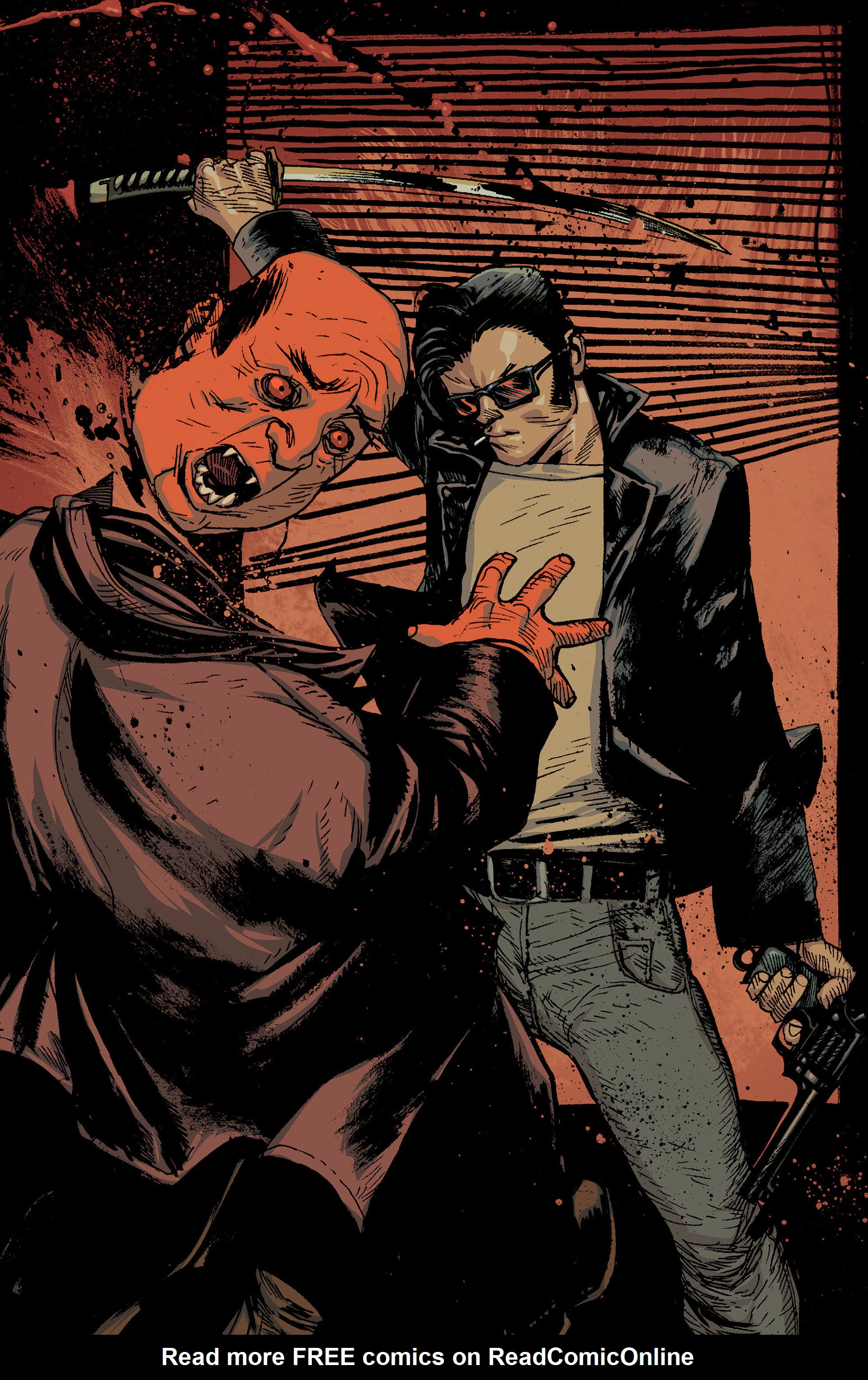 Read online American Vampire: The Long Road To Hell comic -  Issue # Full - 36