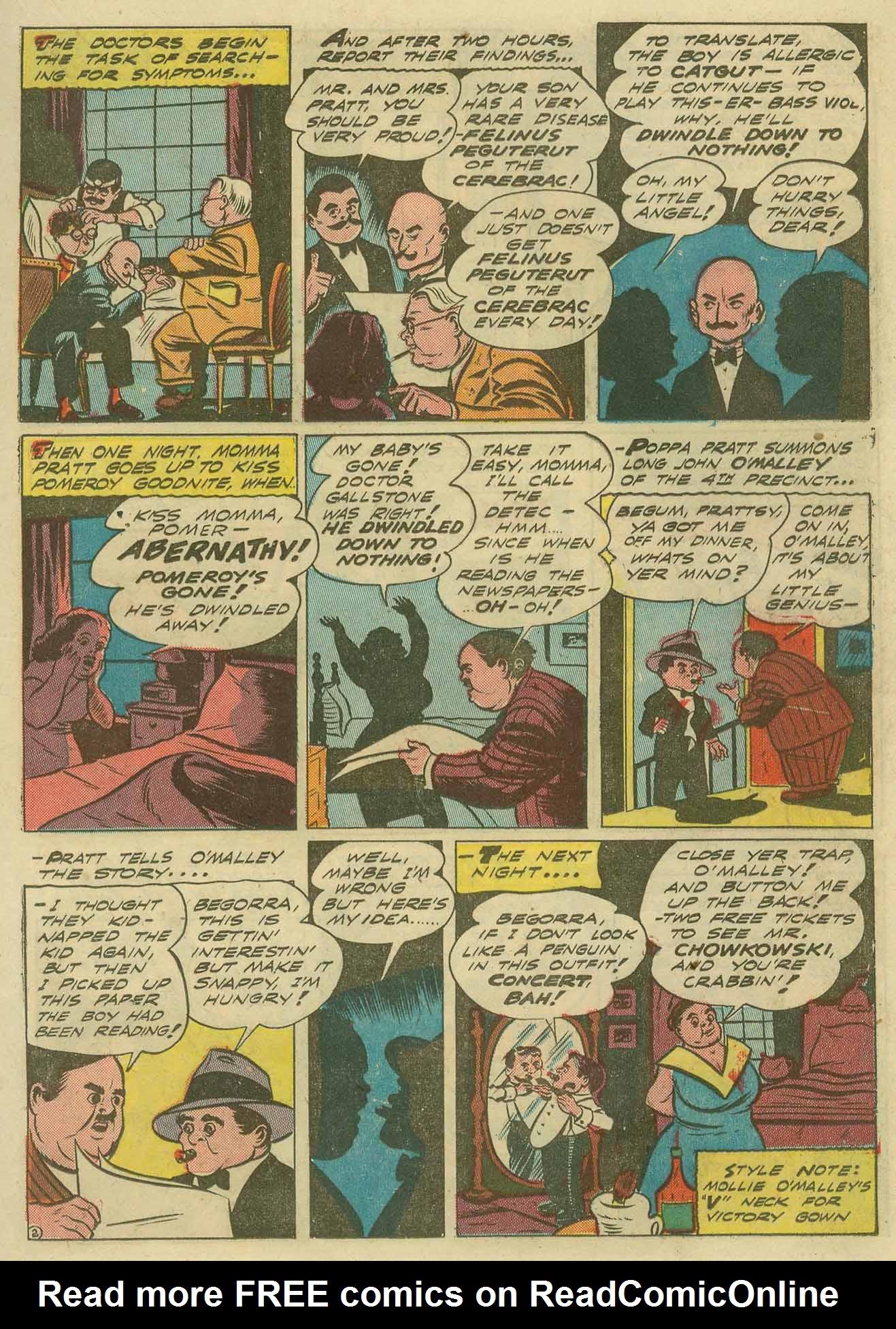 Read online Sensation (Mystery) Comics comic -  Issue #14 - 35