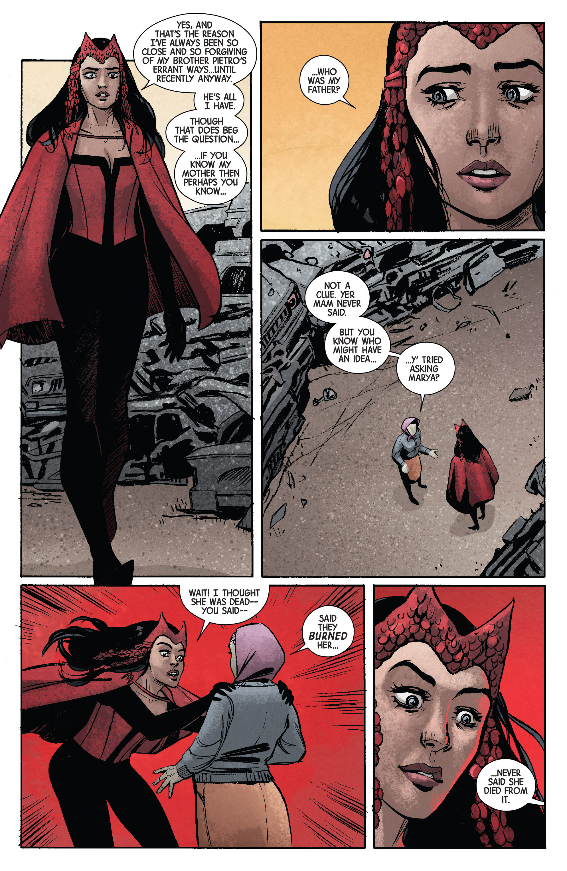 Read online Scarlet Witch (2016) comic -  Issue #11 - 19