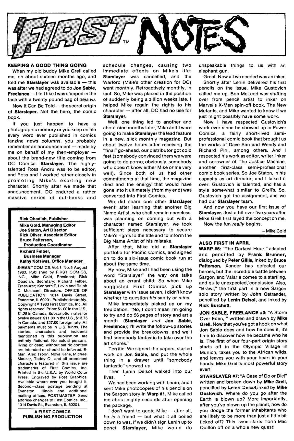 E-Man (1983) 5 Page 2