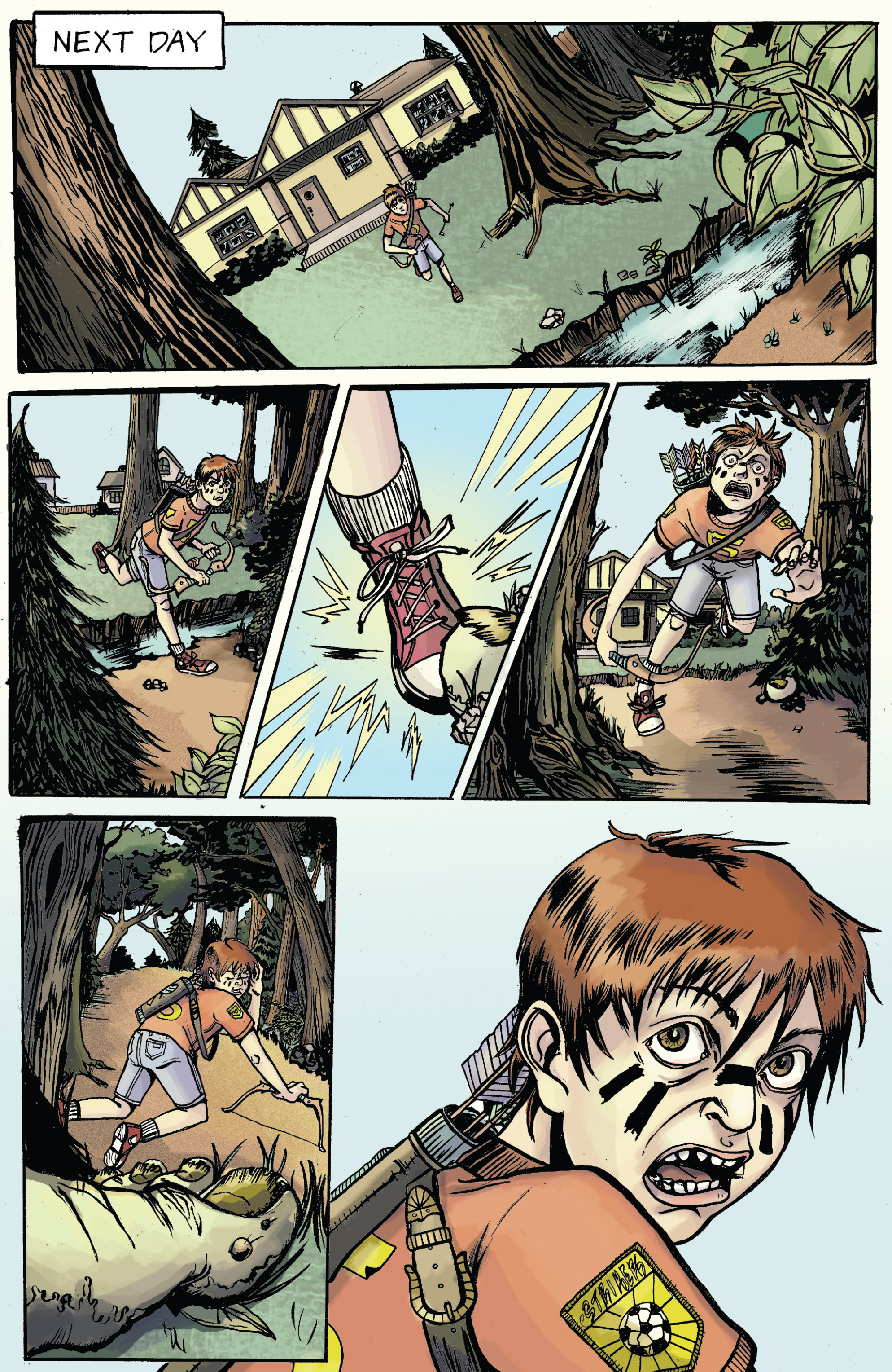 Read online Amazing Forest (2016) comic -  Issue #5 - 12