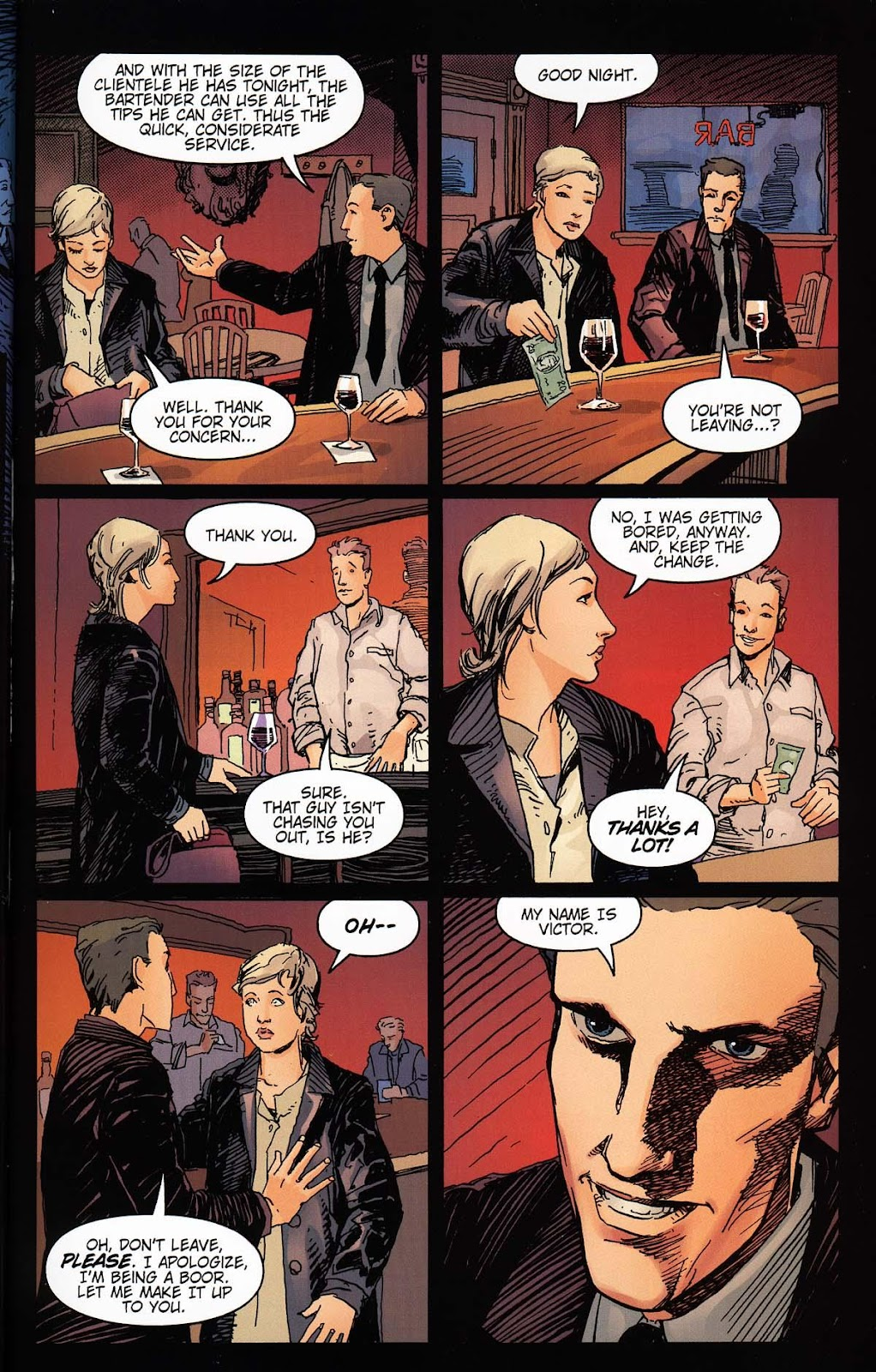 Read online Vampire the Masquerade comic -  Issue # Toreador - 17