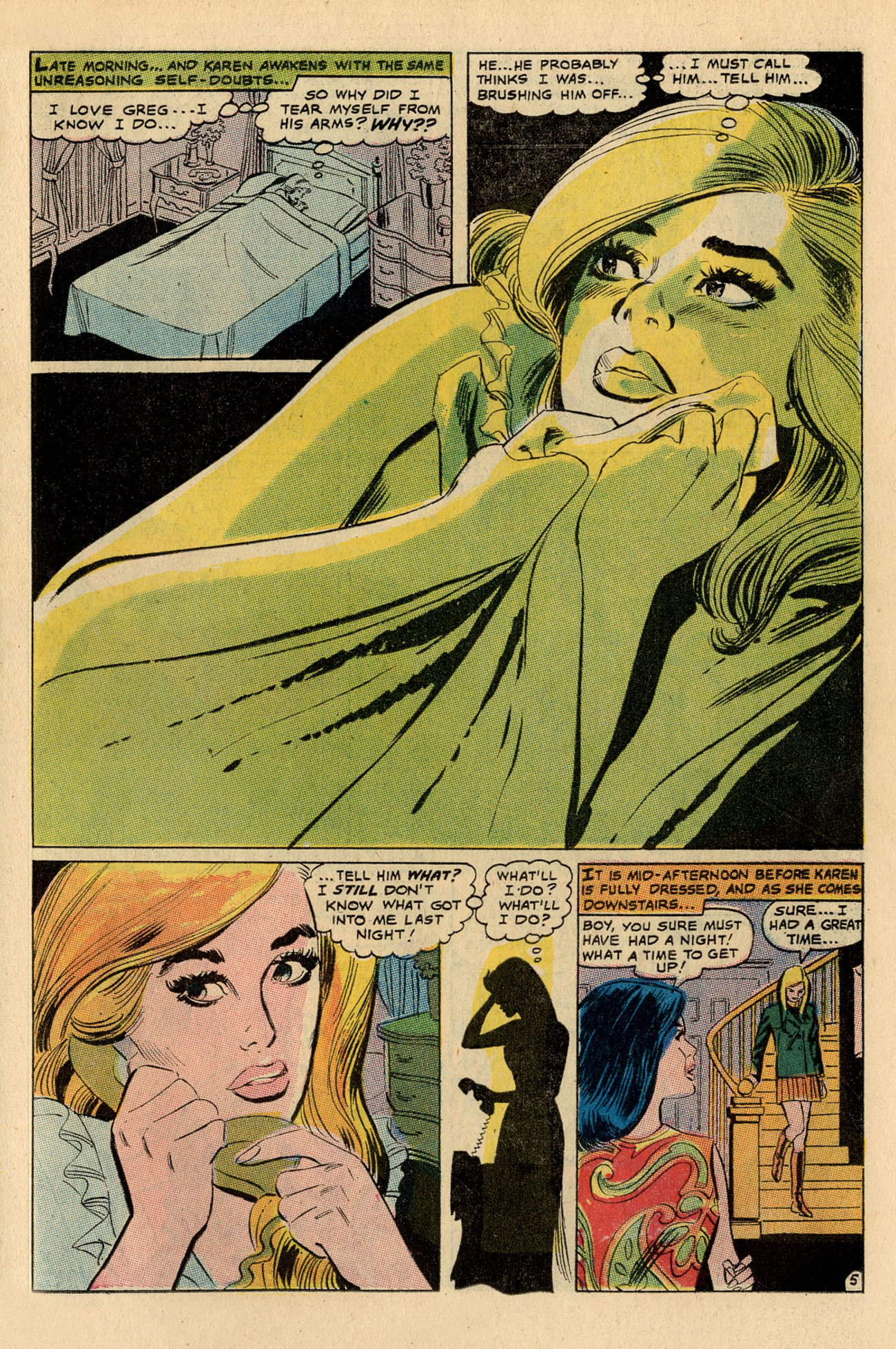 Read online Secret Hearts comic -  Issue #137 - 23