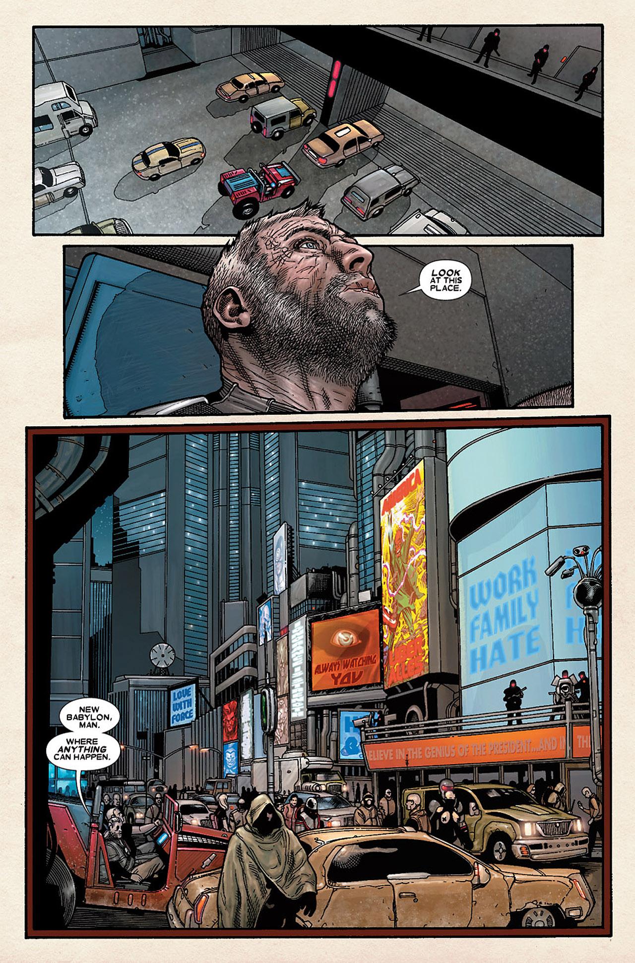 Read online Wolverine: Old Man Logan comic -  Issue # Full - 129