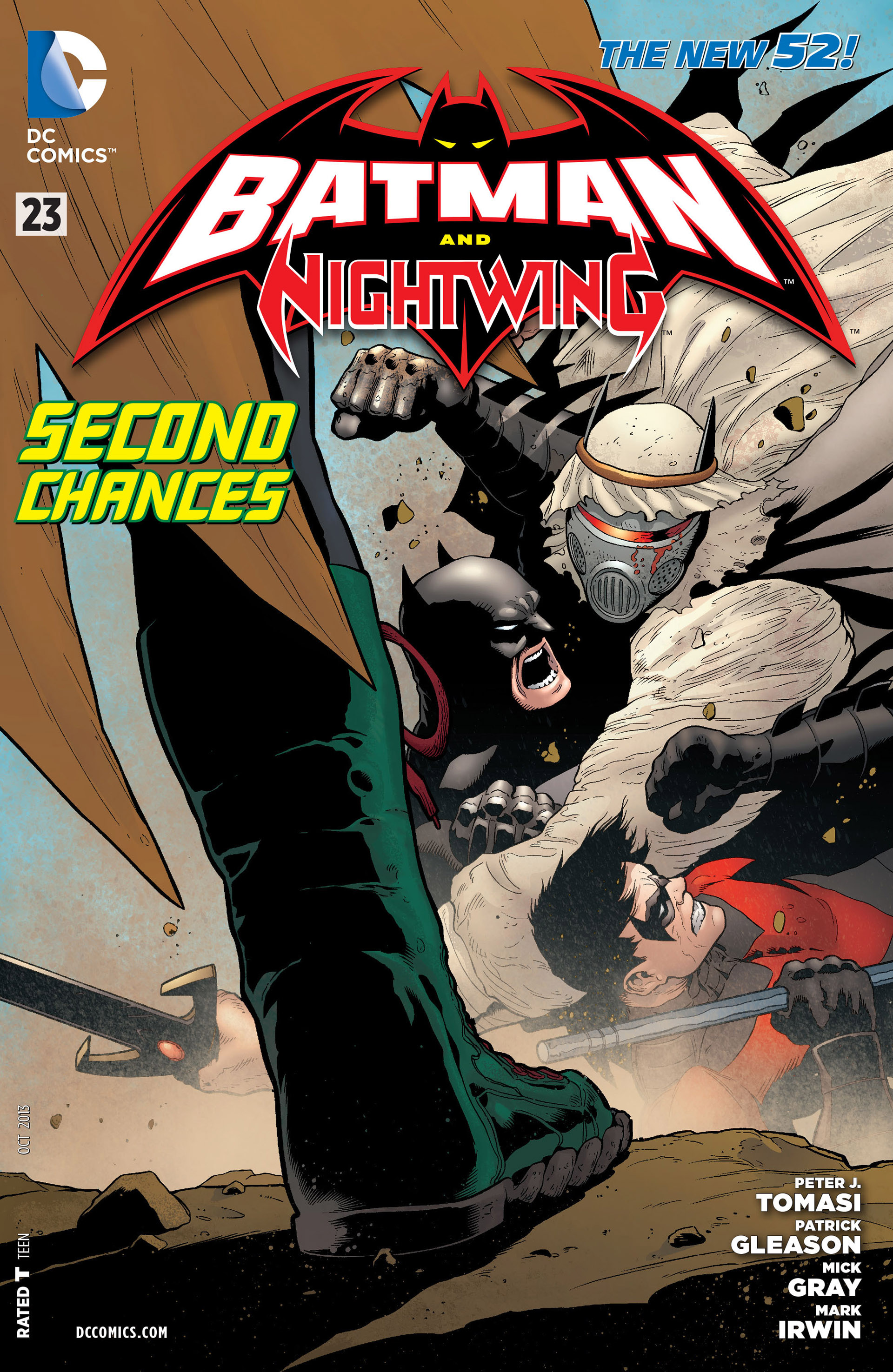 Read online Batman and Robin (2011) comic -  Issue #23 - Batman and Nightwing - 1