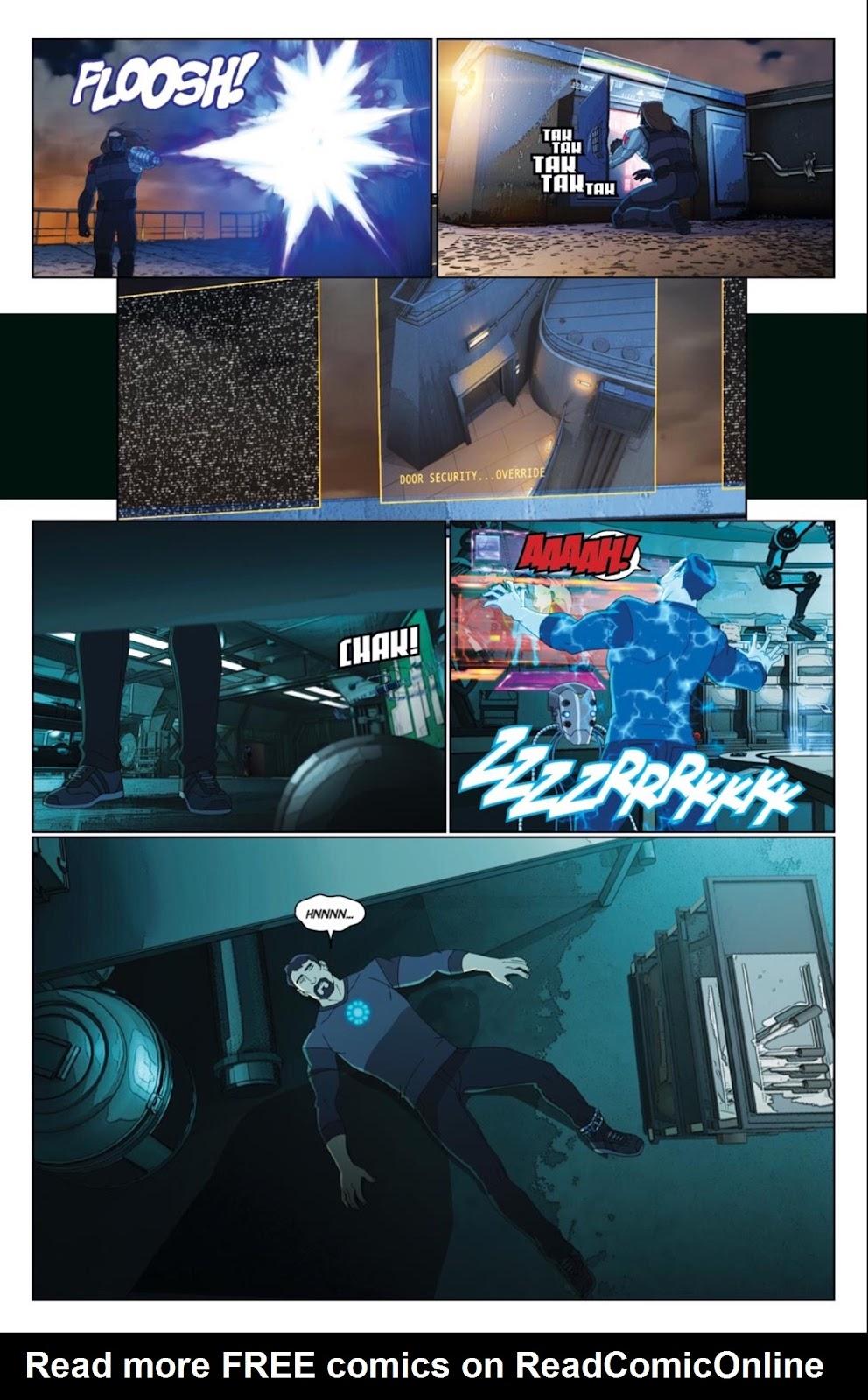 Read online Marvel Universe Avengers Assemble Season 2 comic -  Issue #4 - 5