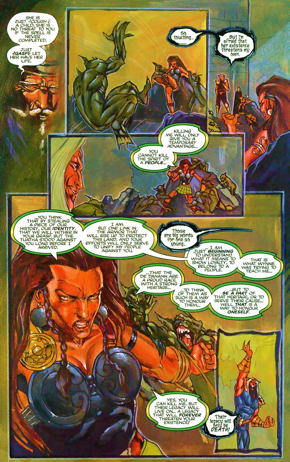 More Than Mortal: Sagas issue 3 - Page 9