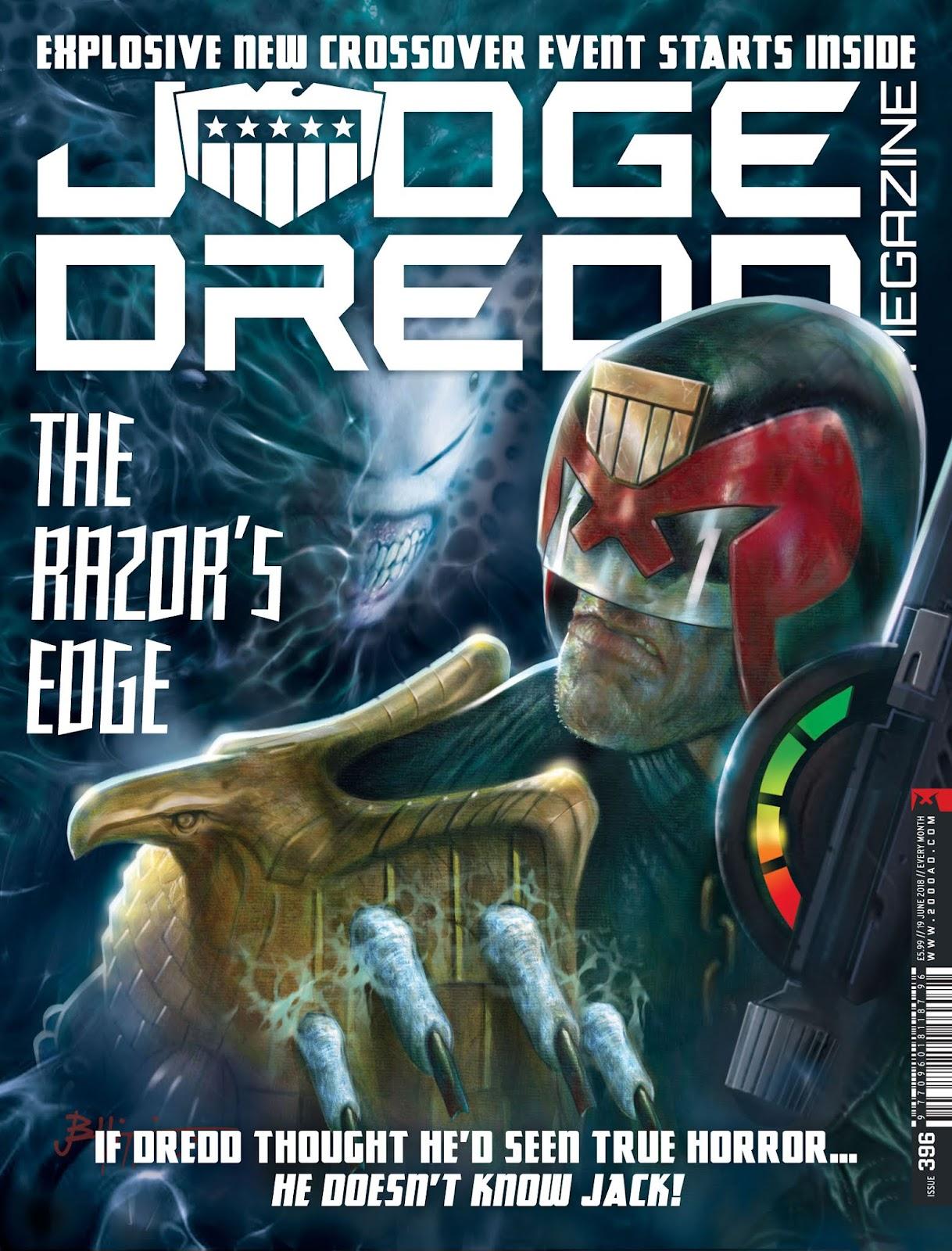 Judge Dredd Megazine (Vol. 5) issue 396 - Page 1