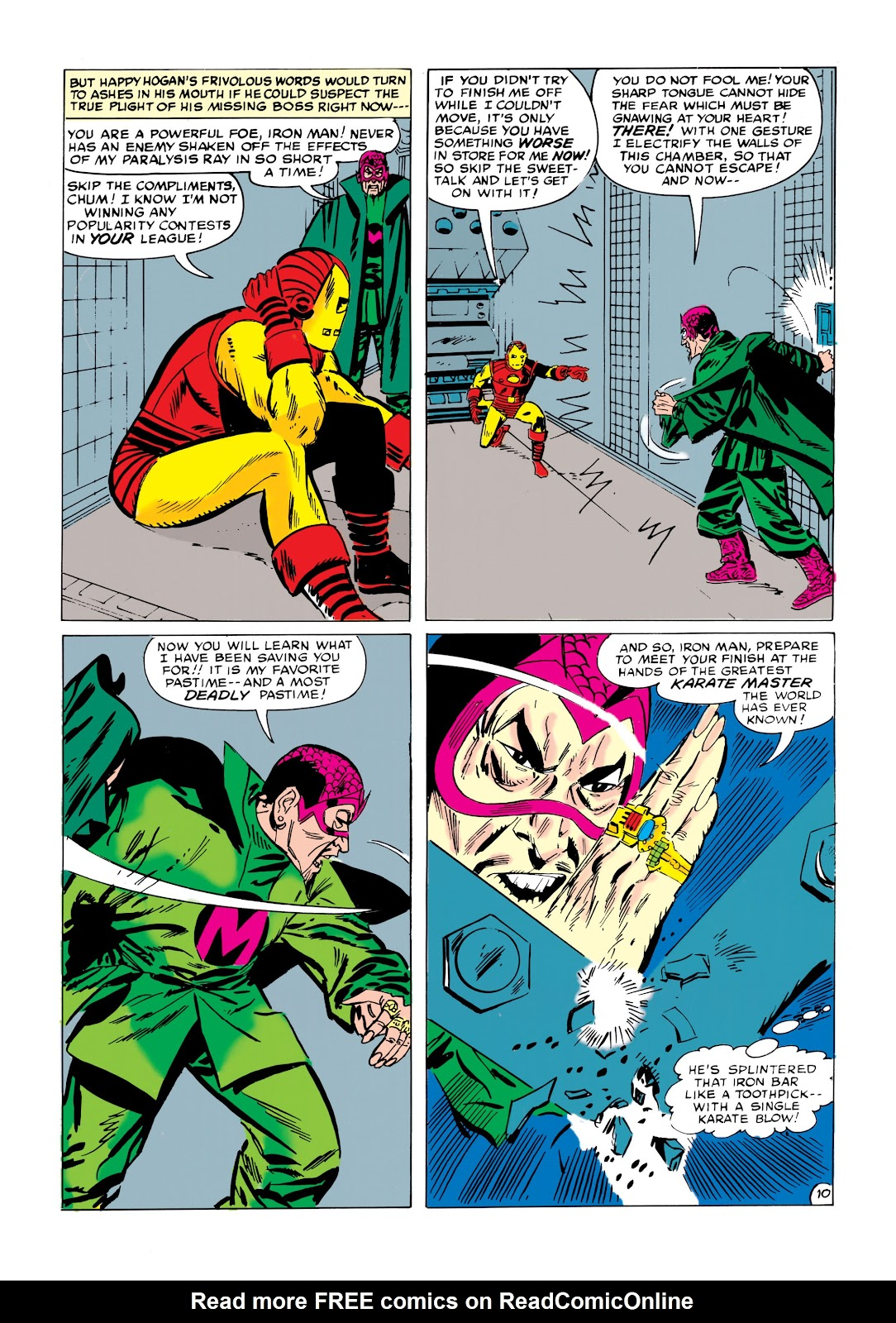 Read online Marvel Masterworks: The Invincible Iron Man comic -  Issue # TPB 1 (Part 2) - 87