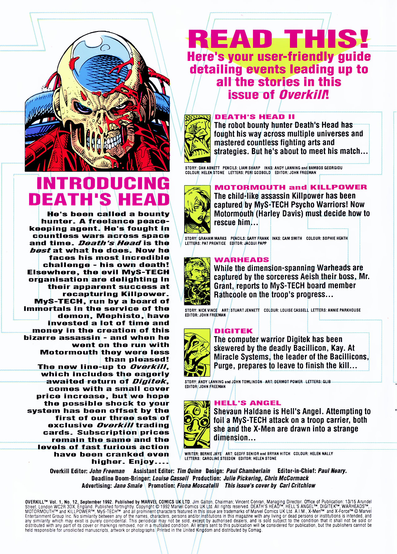 Read online Overkill comic -  Issue #12 - 2