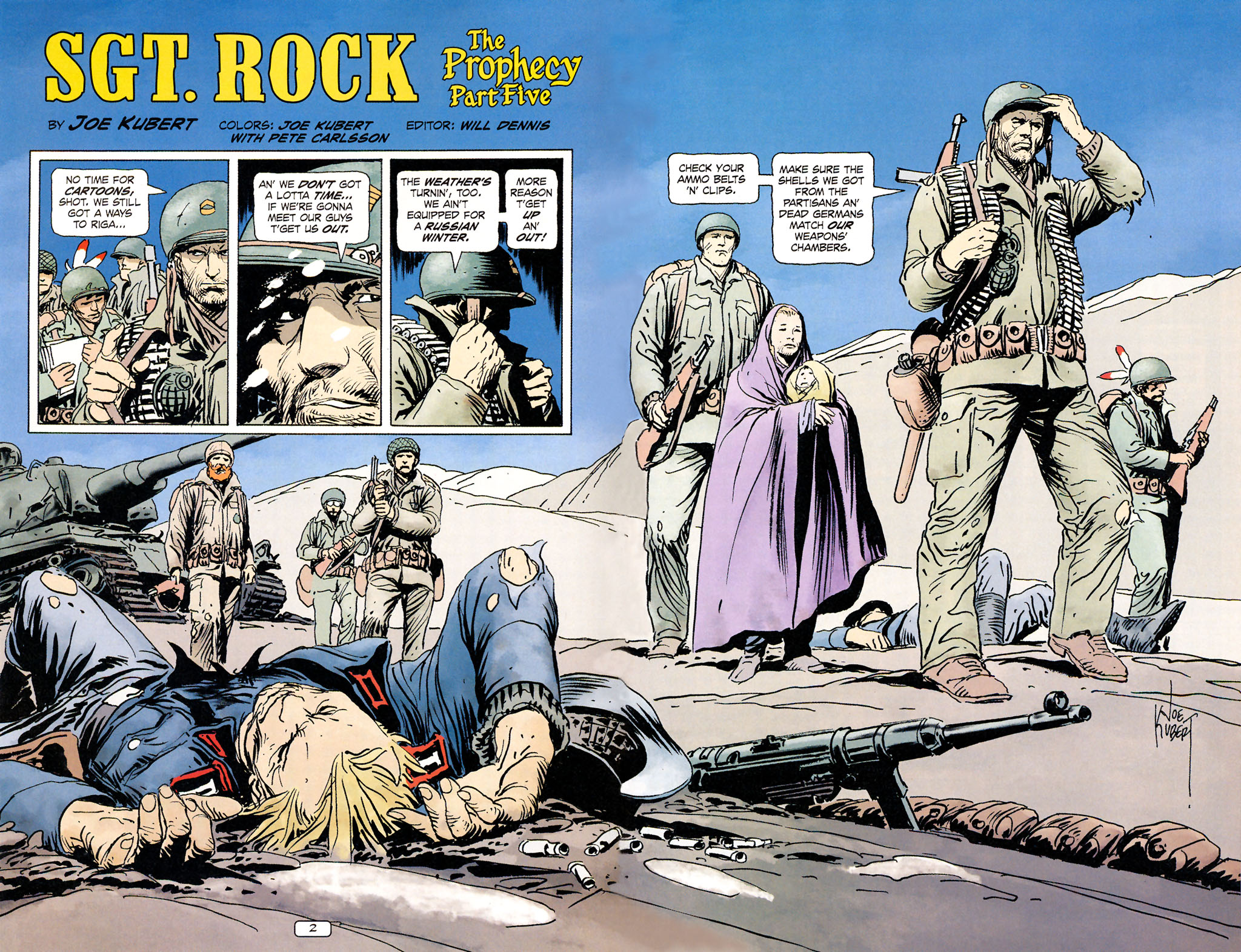 Read online Sgt. Rock: The Prophecy comic -  Issue #5 - 3