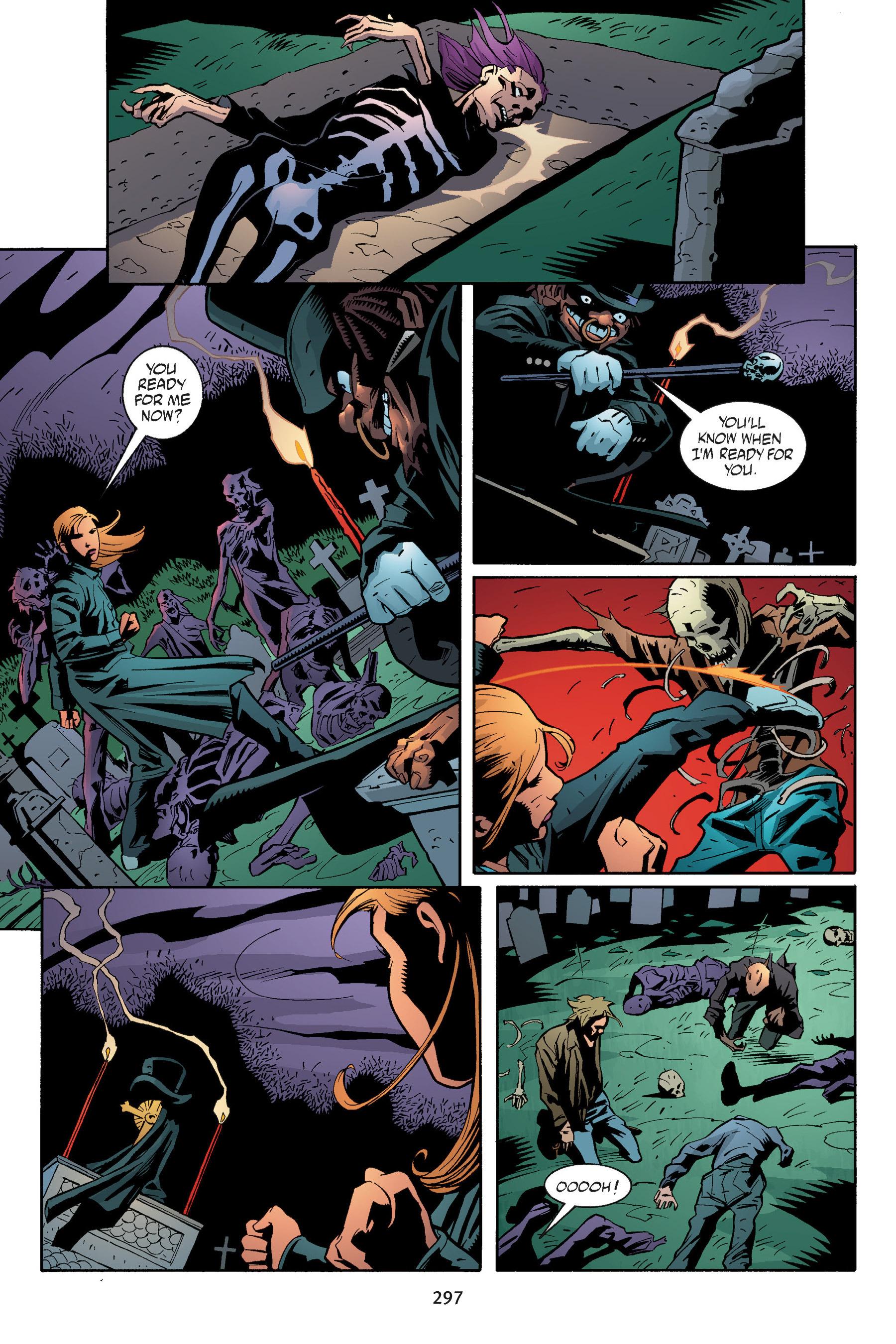 Read online Buffy the Vampire Slayer: Omnibus comic -  Issue # TPB 5 - 296