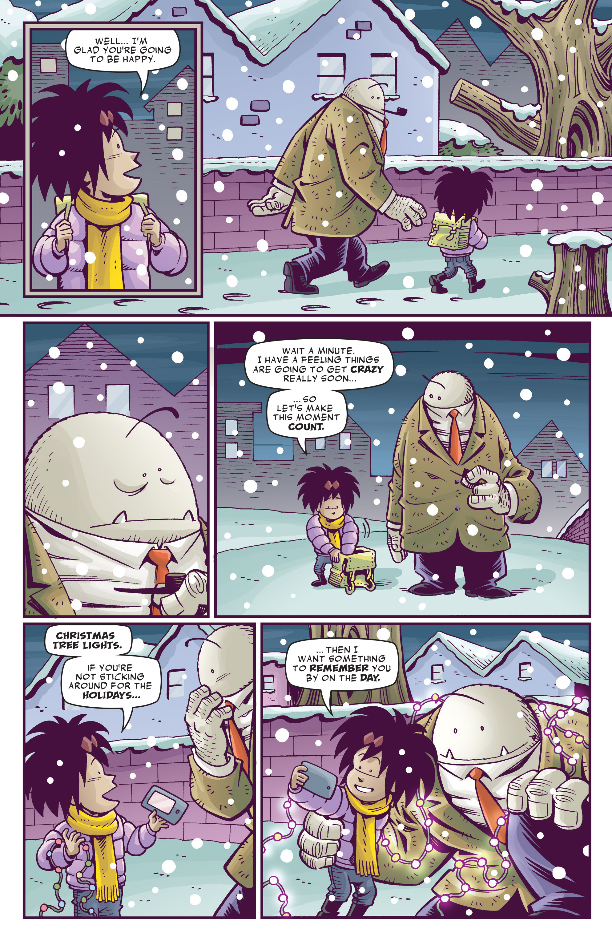 Read online Abigail And The Snowman comic -  Issue #4 - 8