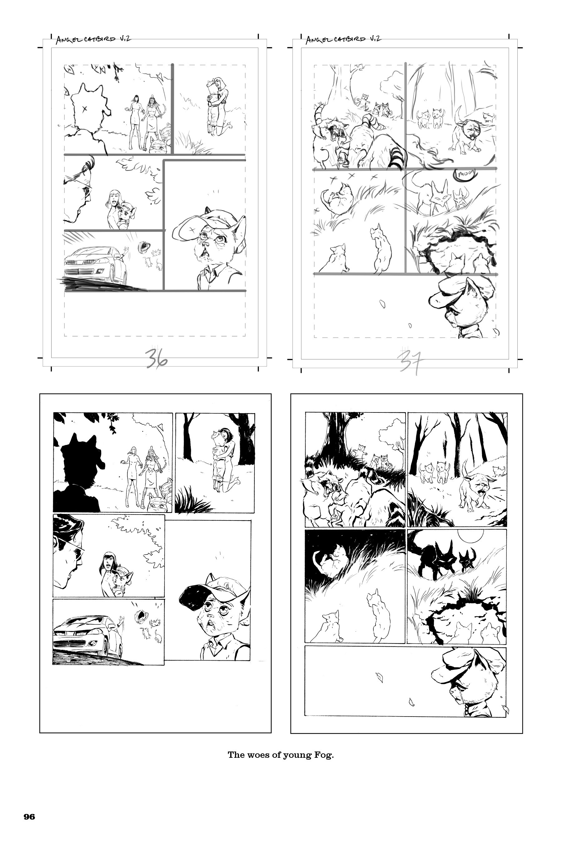 Read online Angel Catbird comic -  Issue # TPB 2 - 97