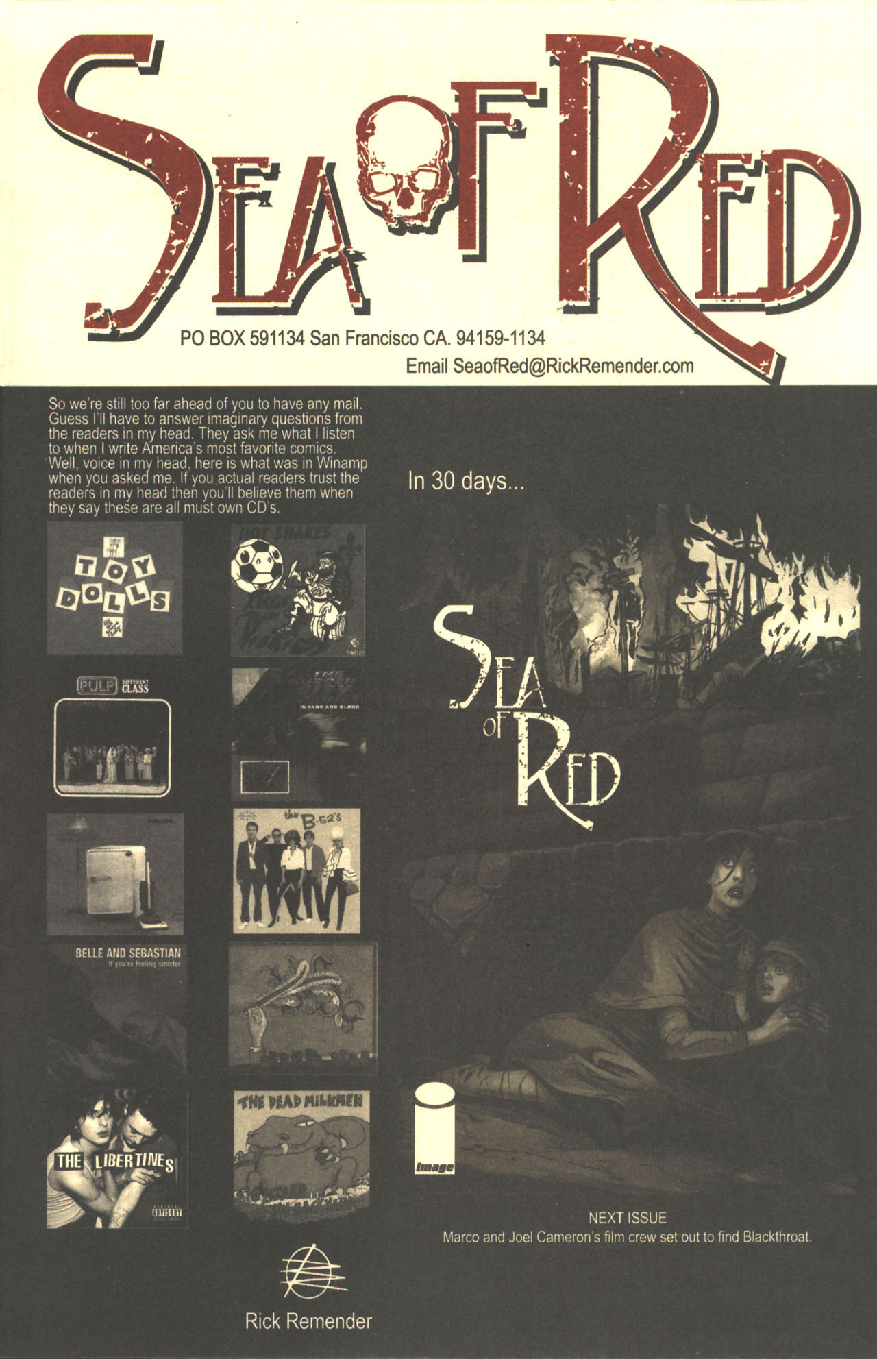 Read online Sea of Red comic -  Issue #2 - 25